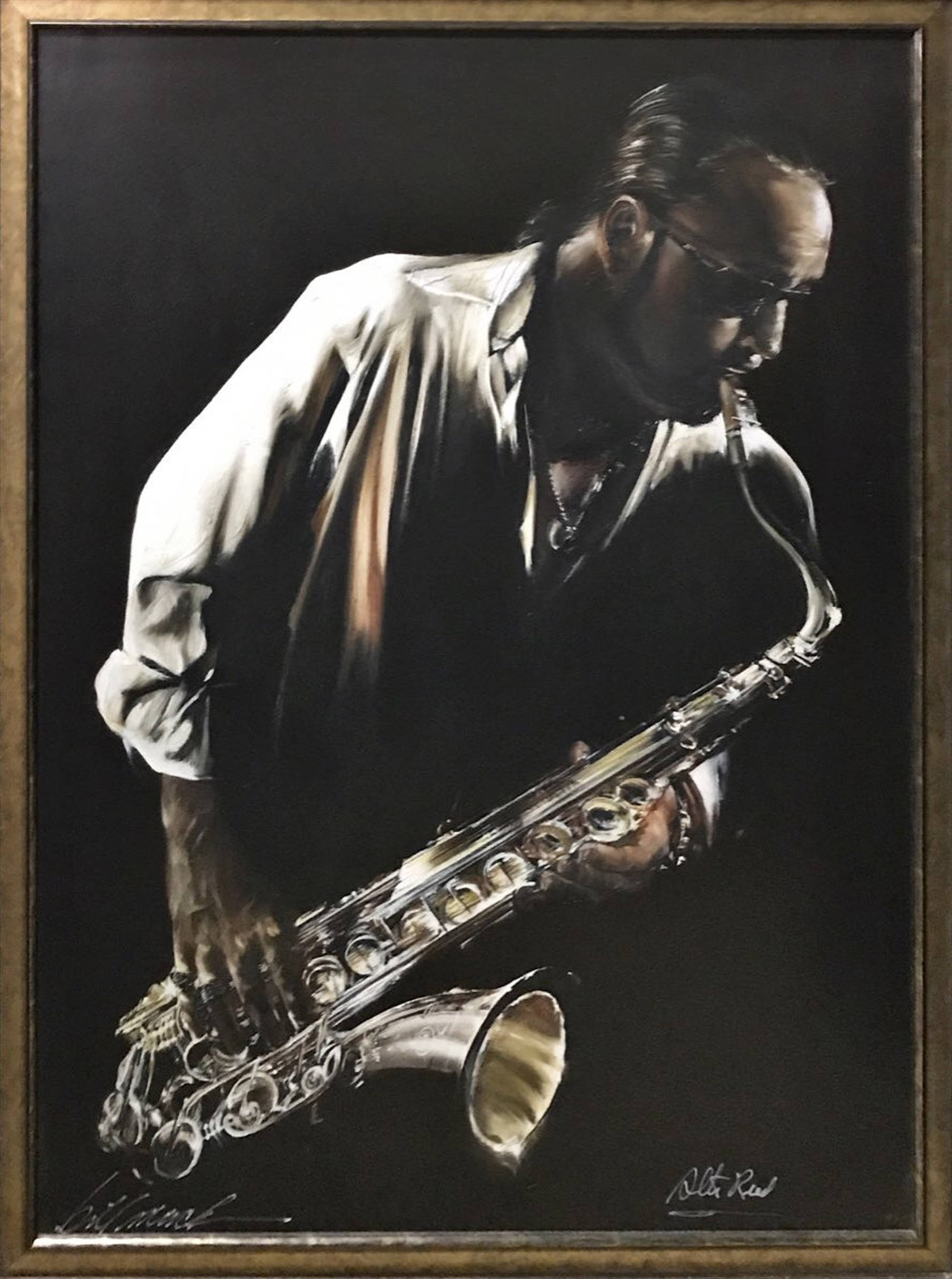 Jazzman Signed by Alto Reed by Bill Mack