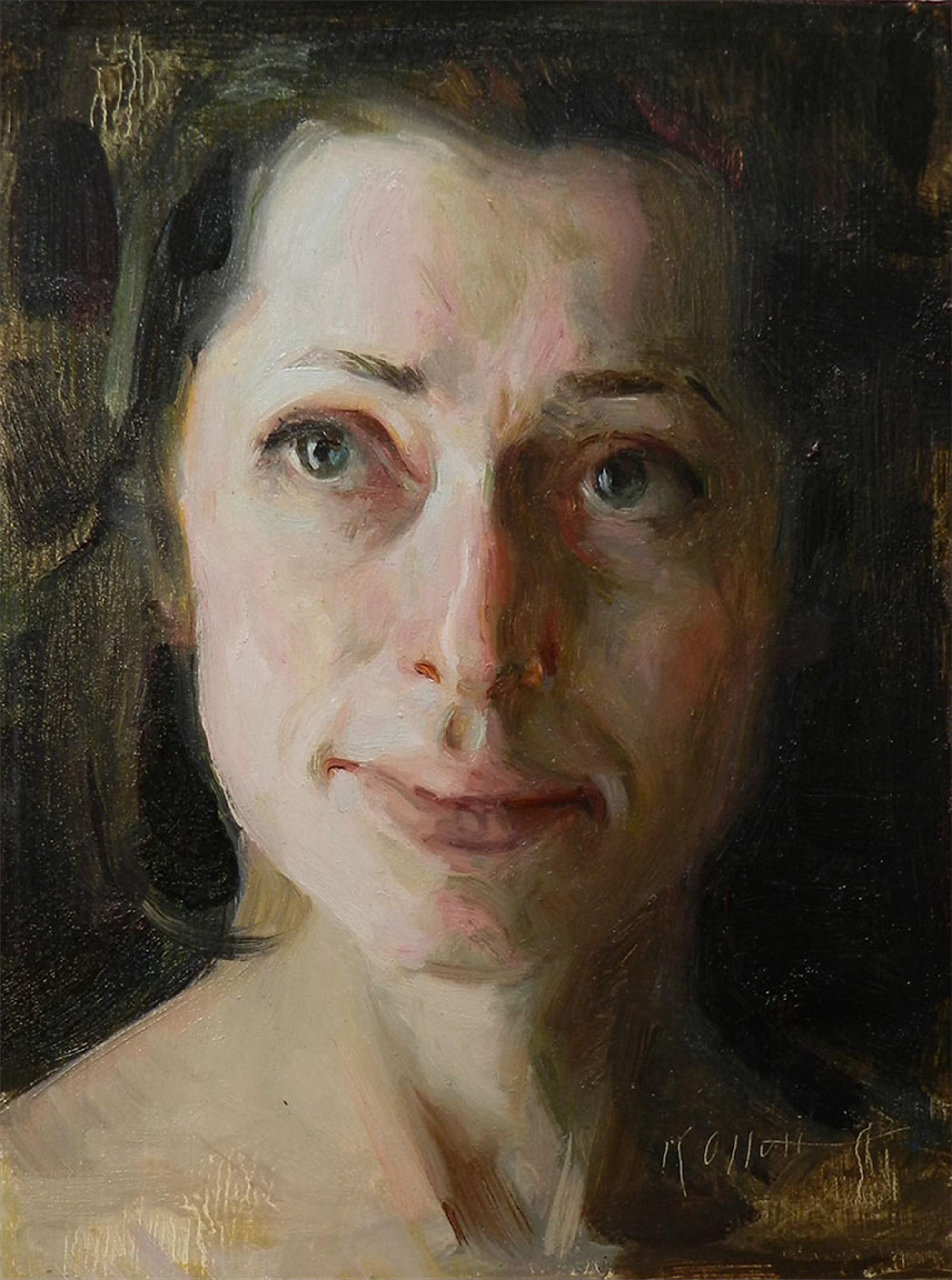 Study of Yelena by Karen Offutt