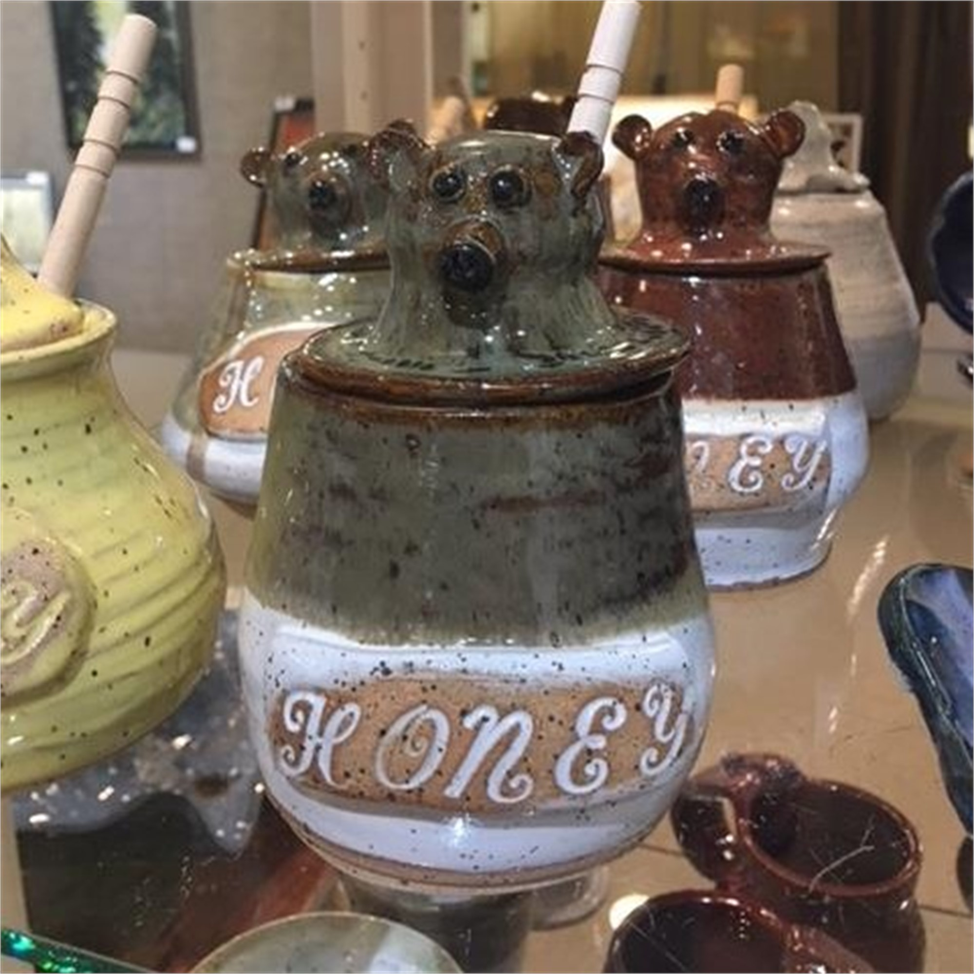 Honey Bear honey jar by Lavon Strickland