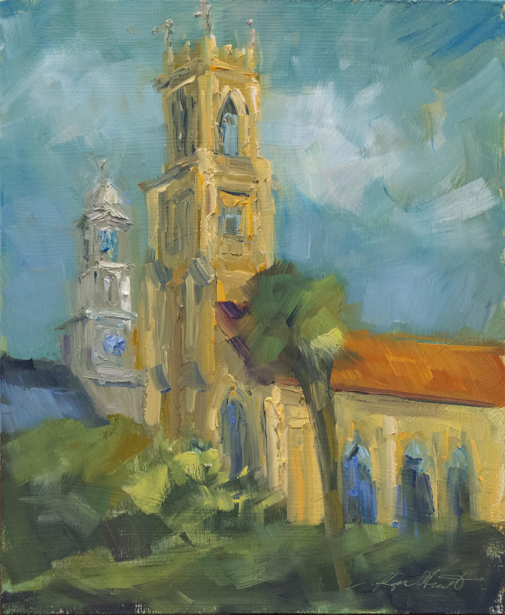 Church on Archdale Street by Karen Hewitt Hagan