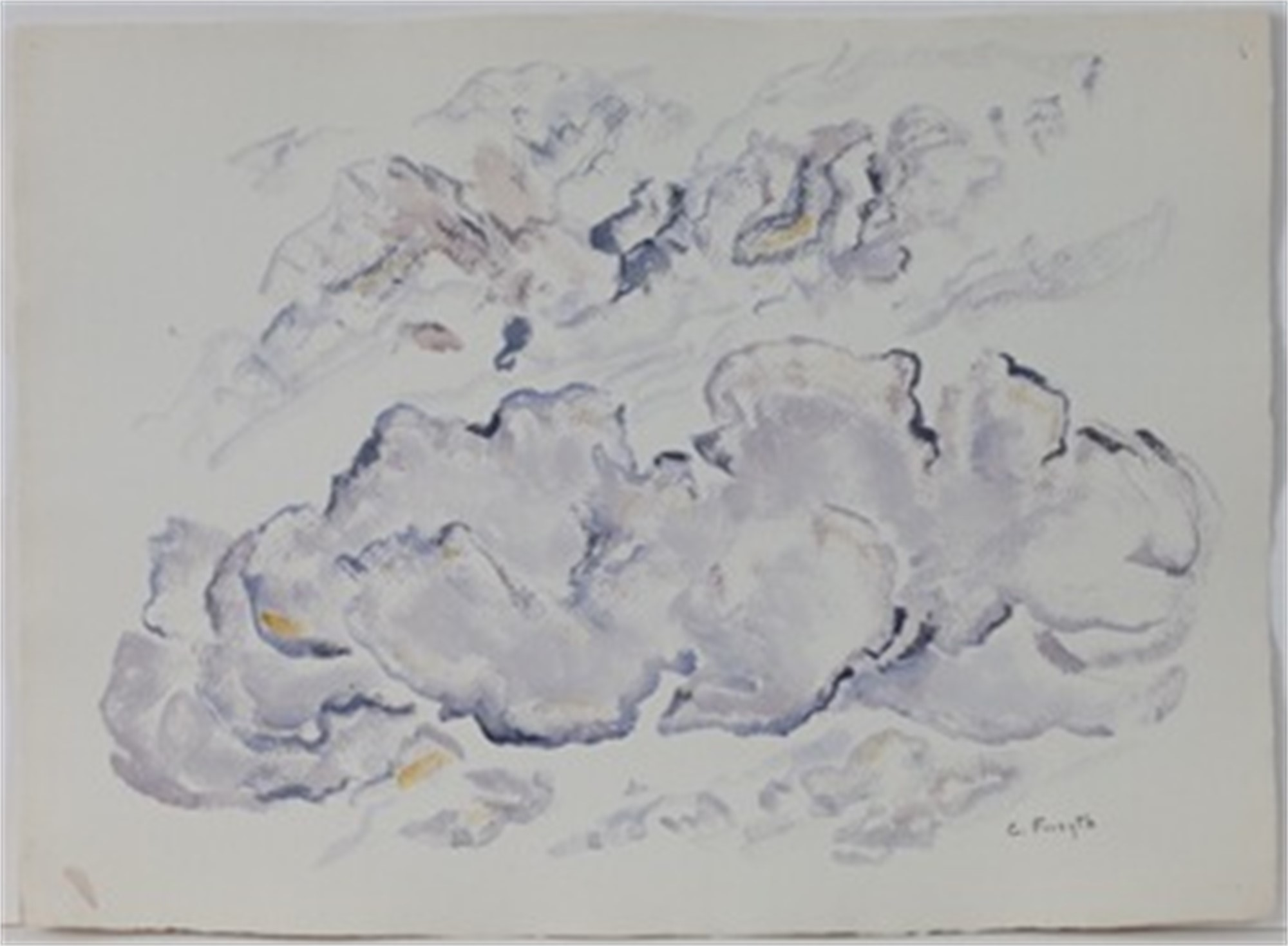 Puffy Clouds by Constance Forsyth