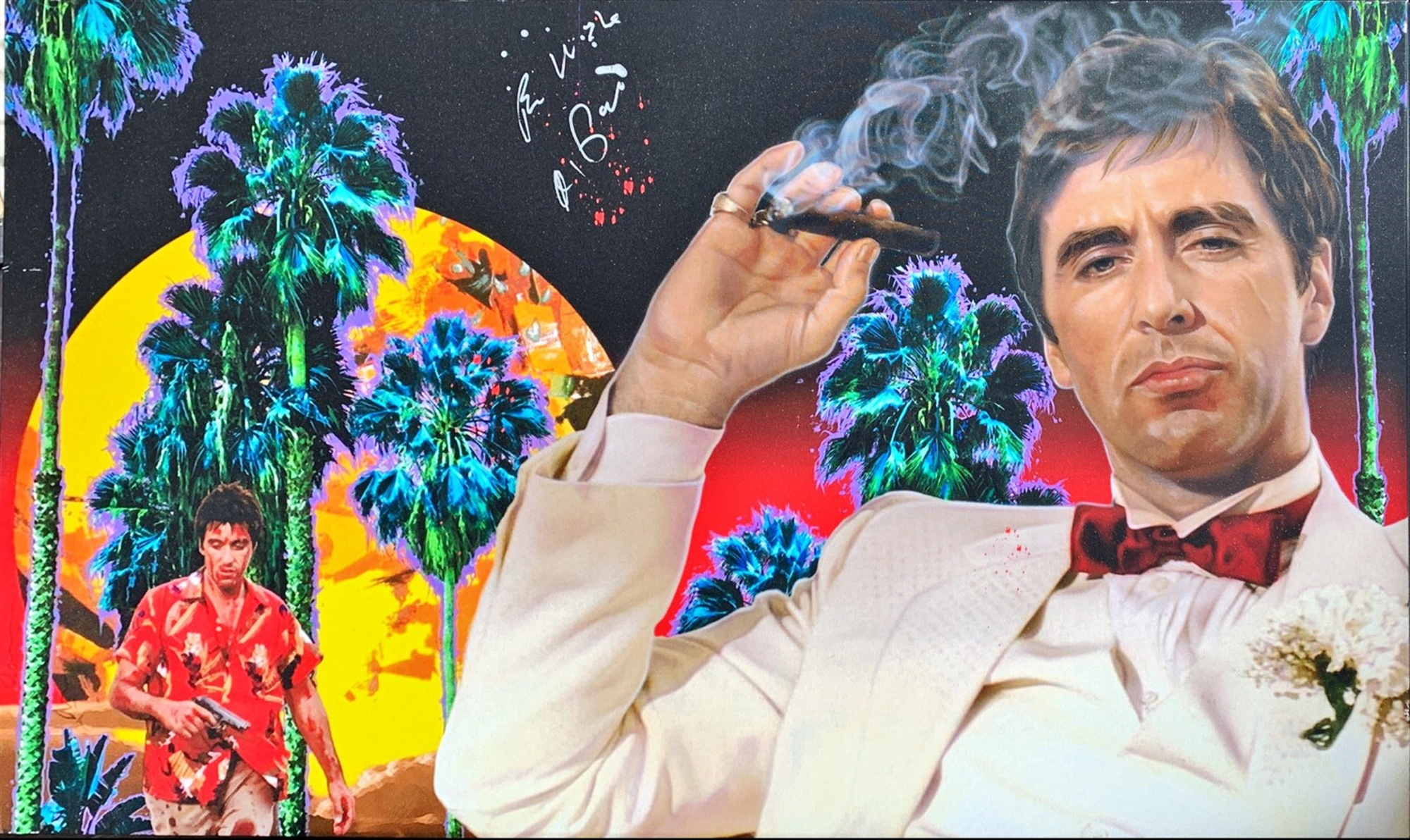 Scarface by Adam Scott Rote
