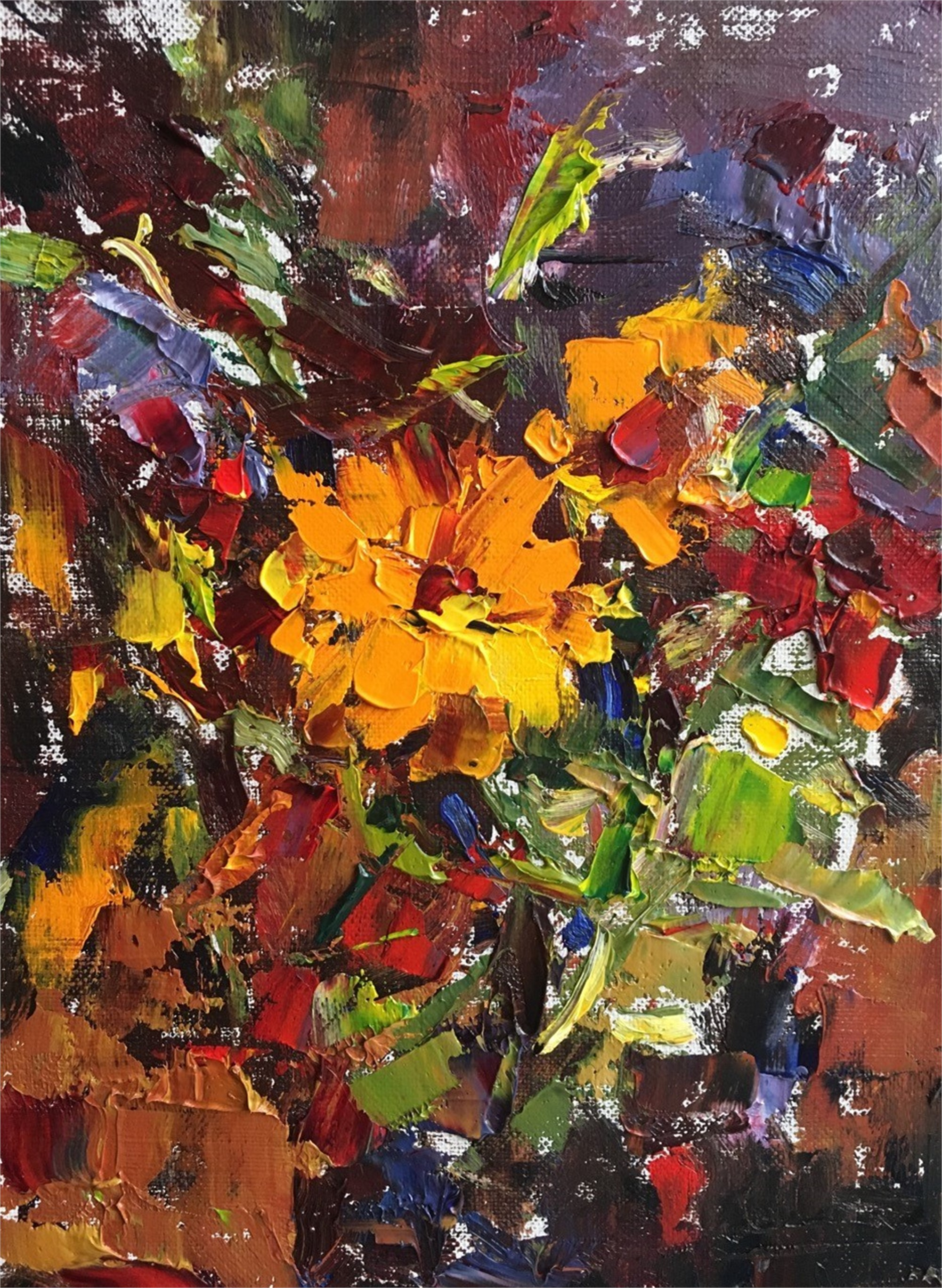 Wildflowers by Sandra Pratt