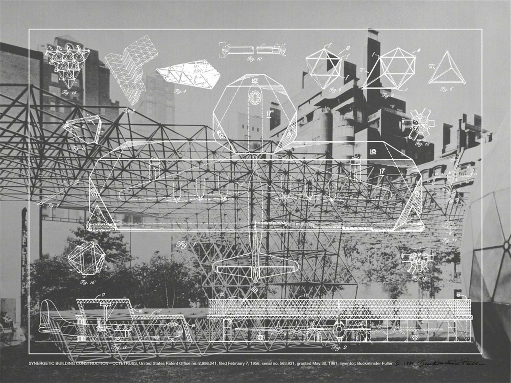 Synergetic Building Construction- Octetruss by Buckminster Fuller