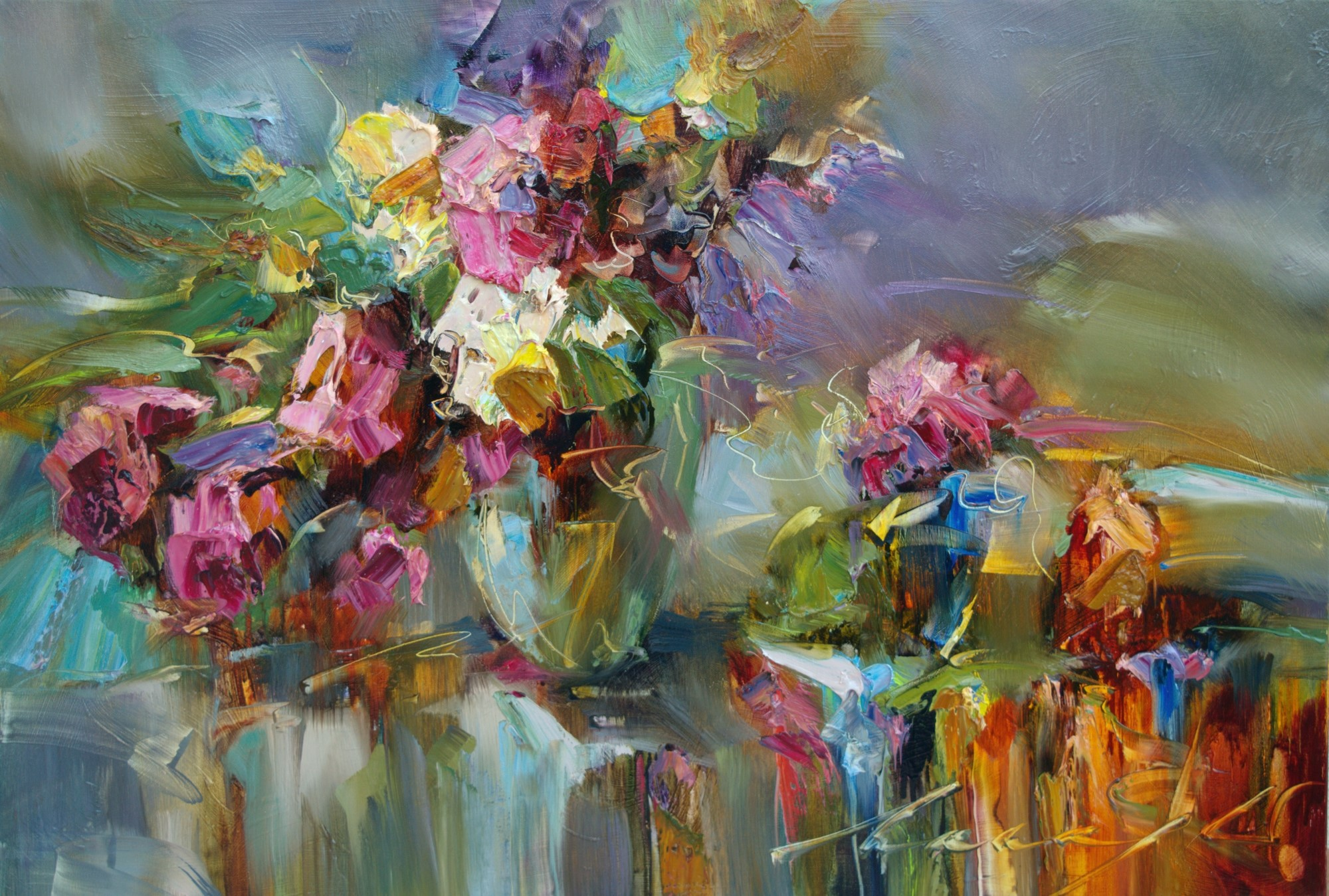 Floral Fantasy  by Andrew Manaylo