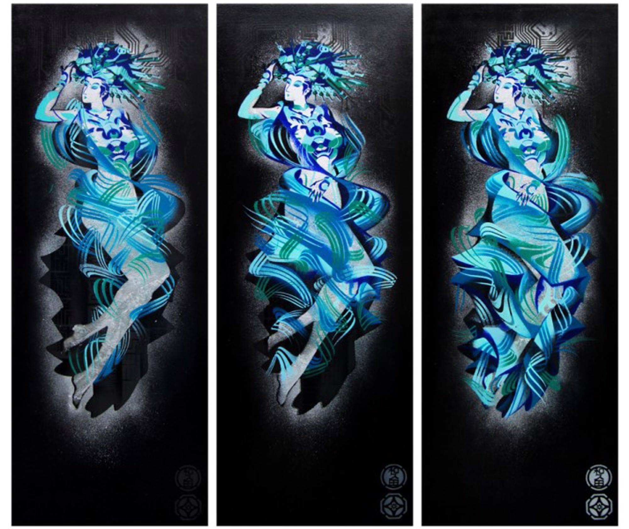 Aura (Silver) by Jonathan Wakuda Fischer