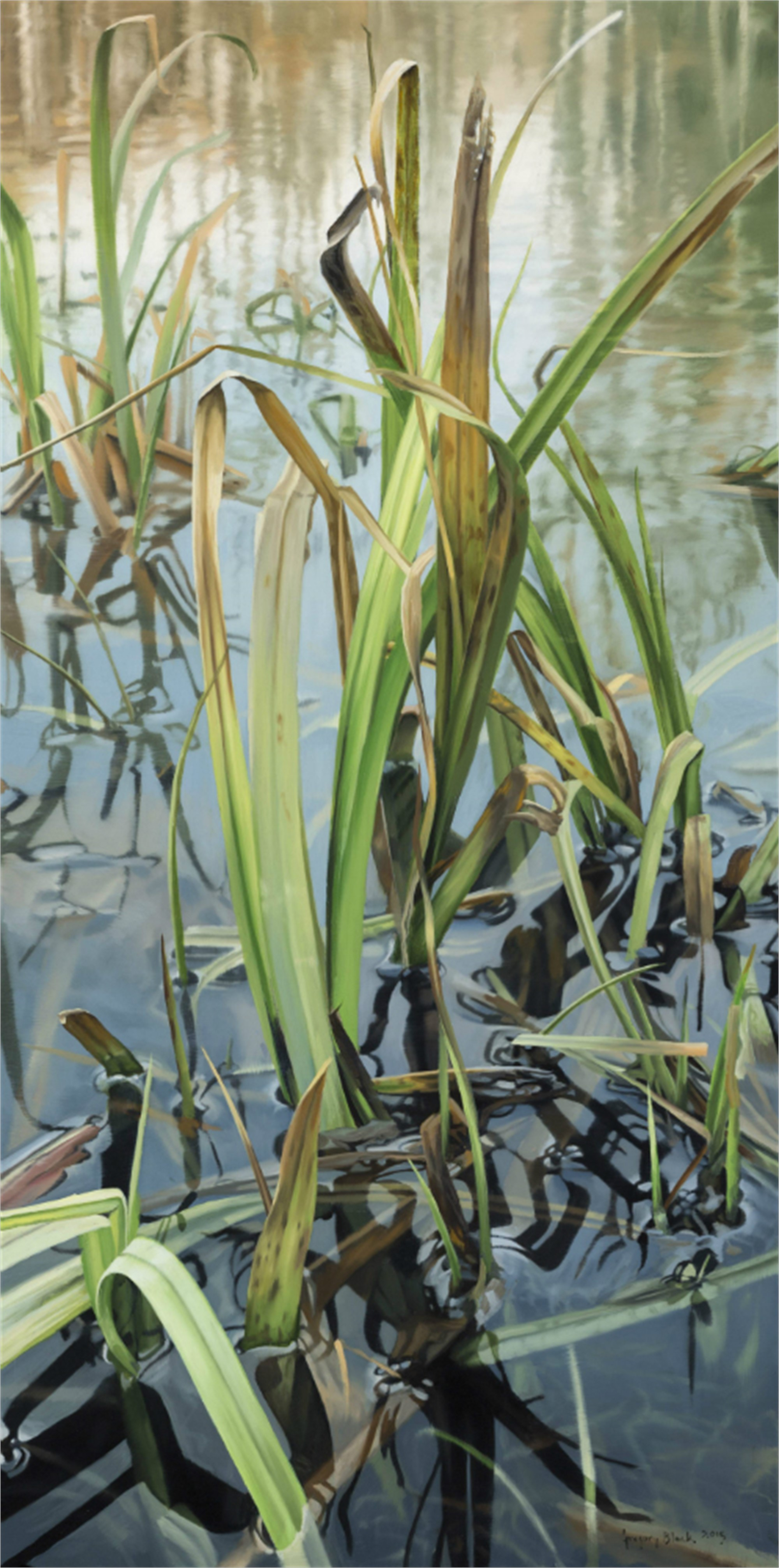 The Pond in May by Gregory Block
