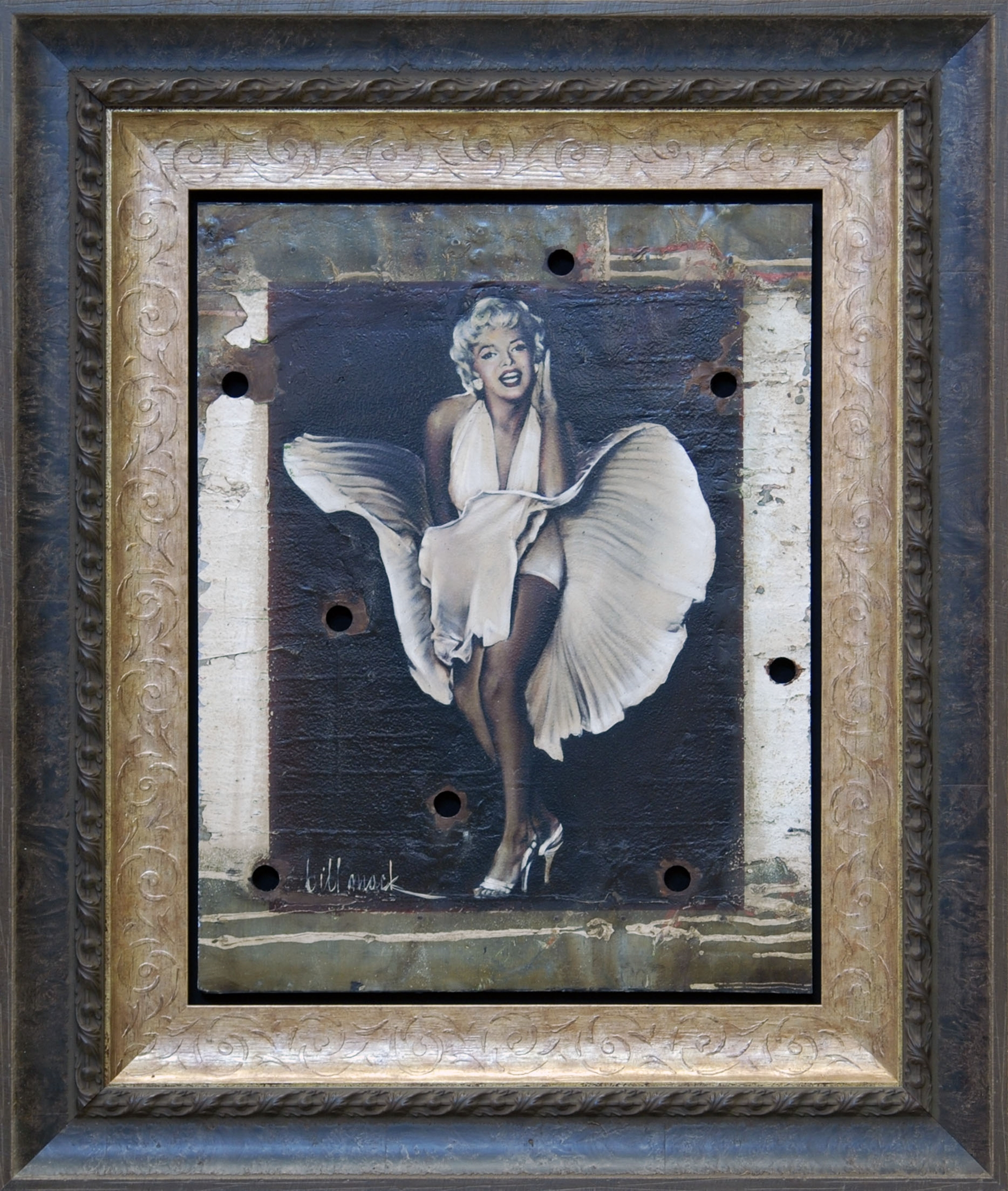 Marilyn Seven Year Itch Unique by Bill Mack