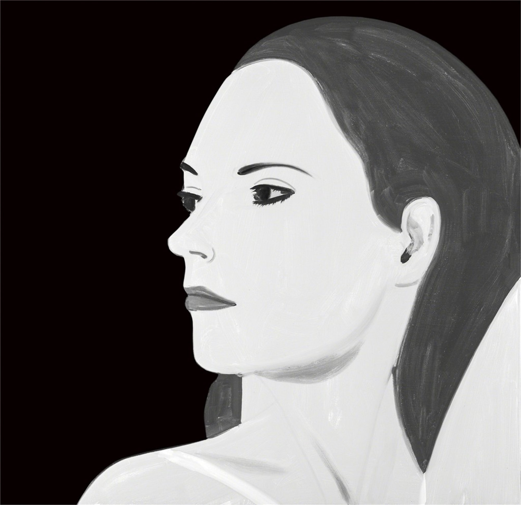 Laura 5 by Alex Katz