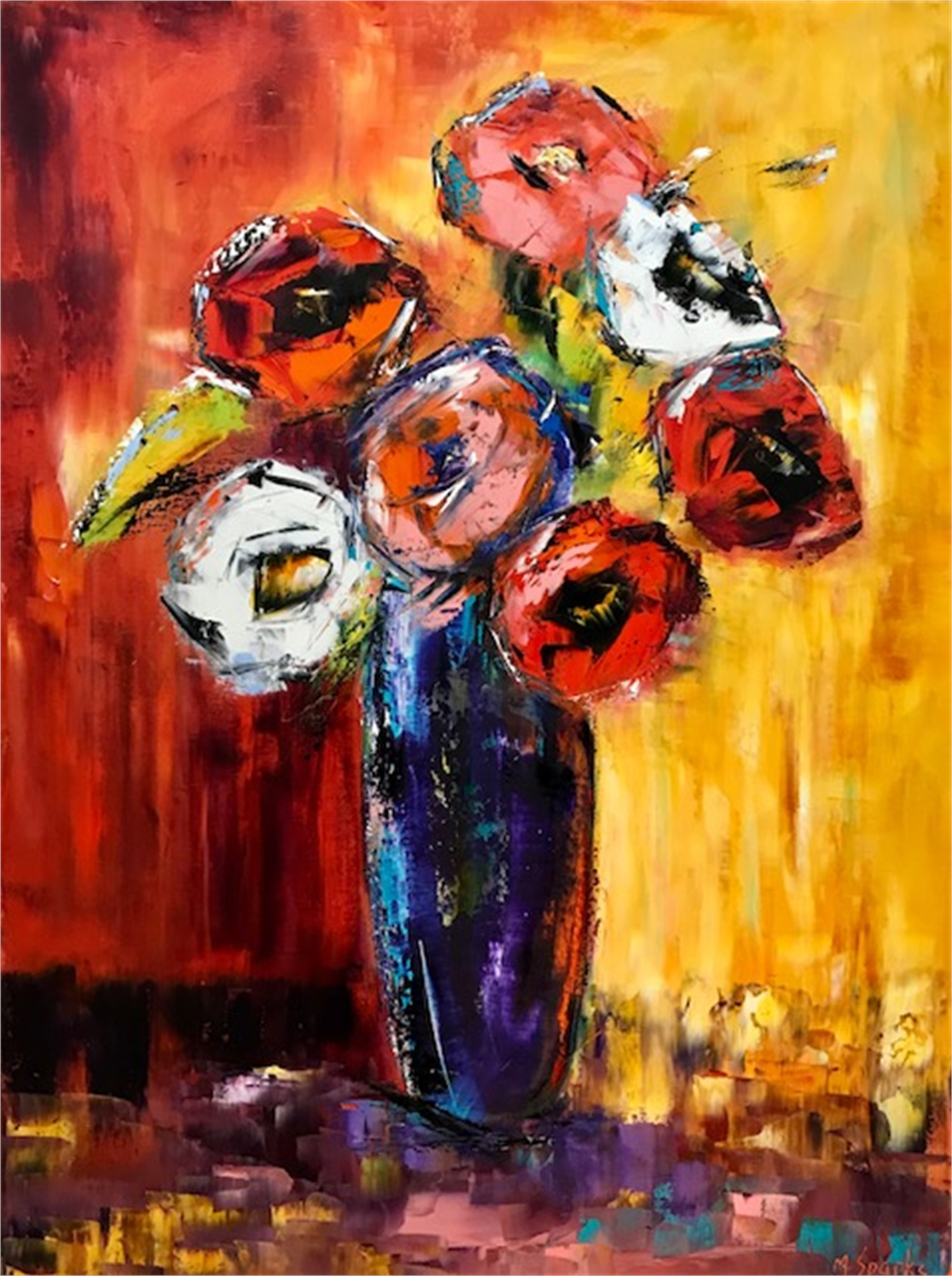 In Full Bloom by Marilyn Sparks