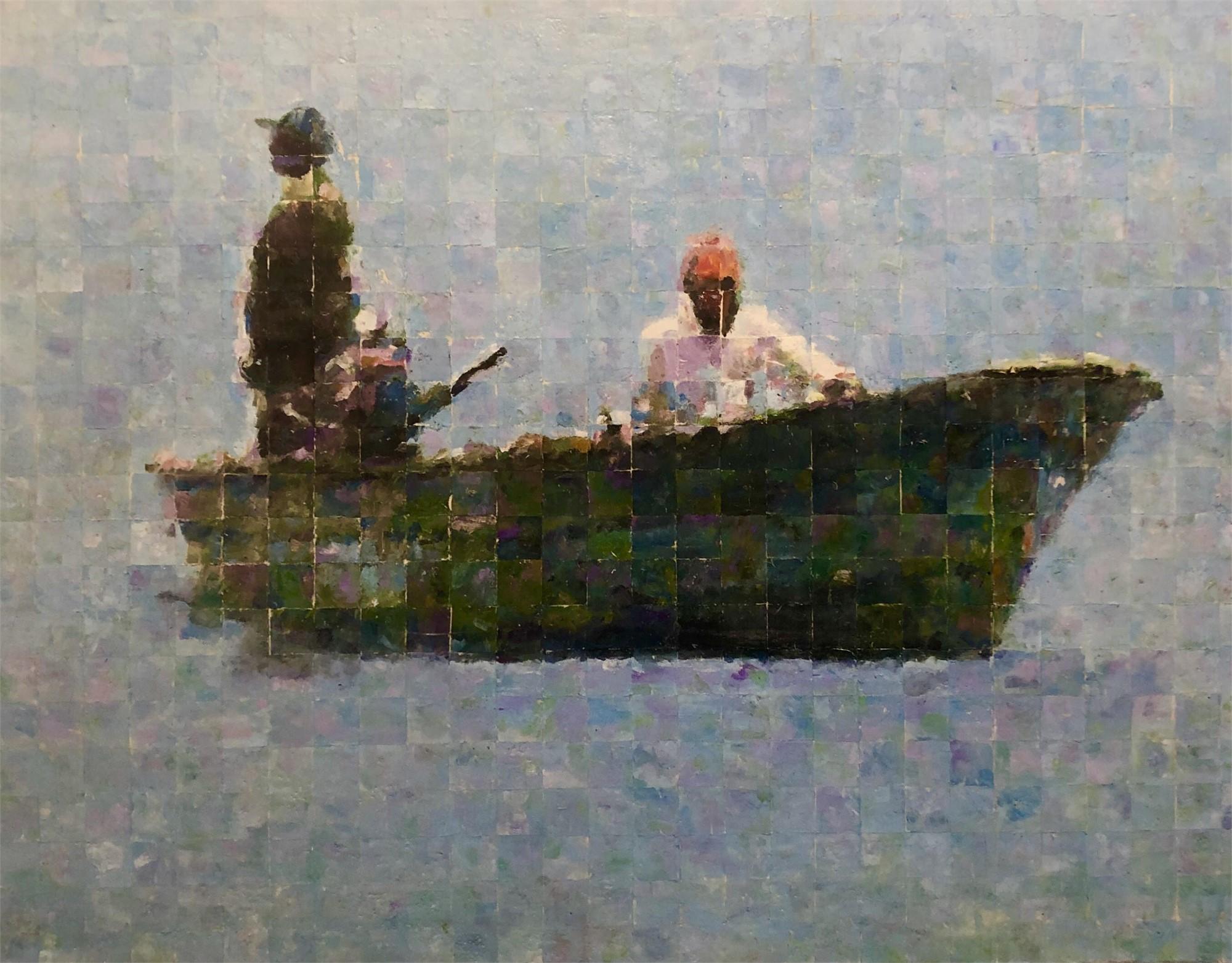 The Fisherman of Guayabitos by Mark Gaskin