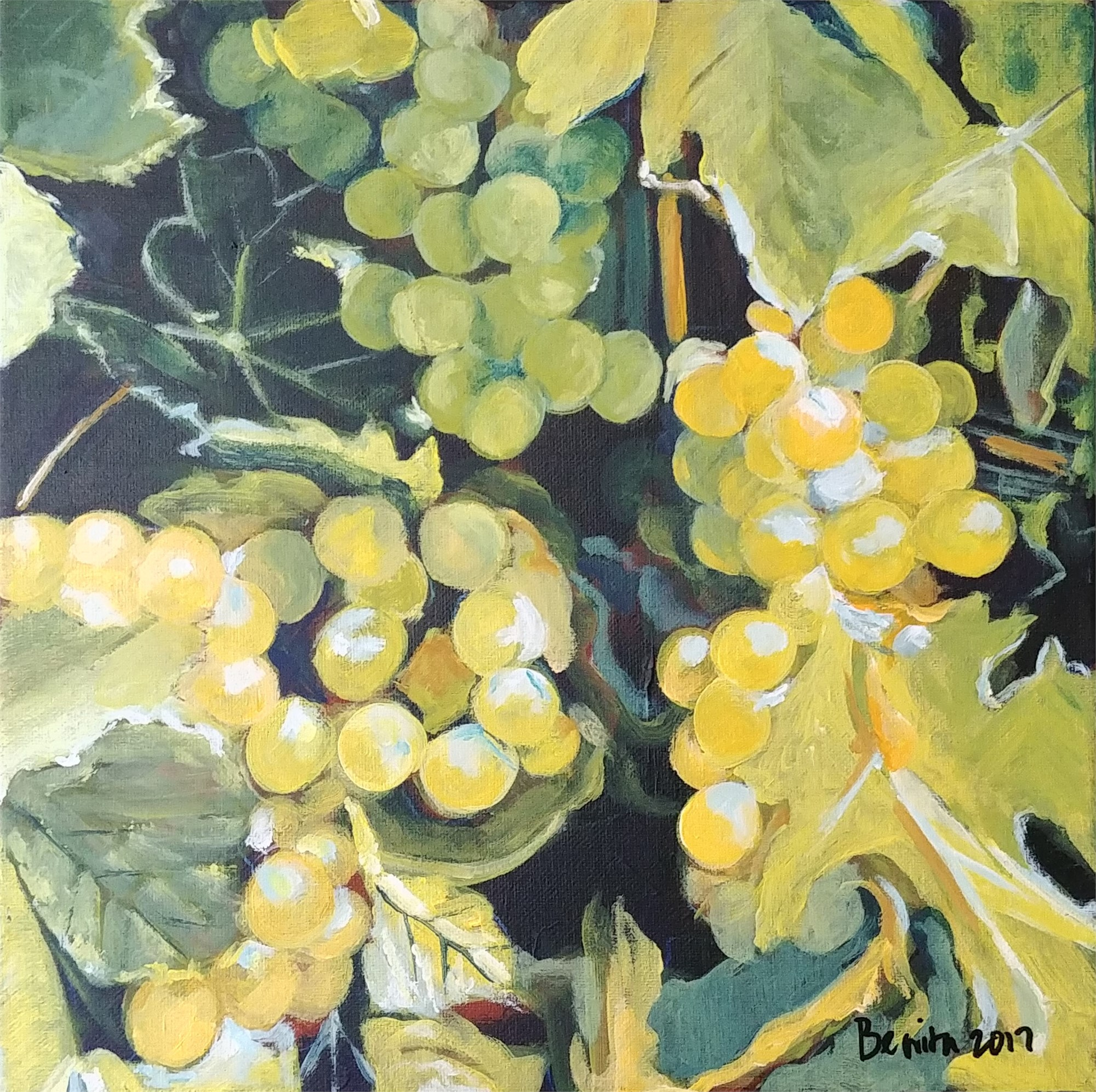Grapes by Benita Cole (McMinnville, OR)