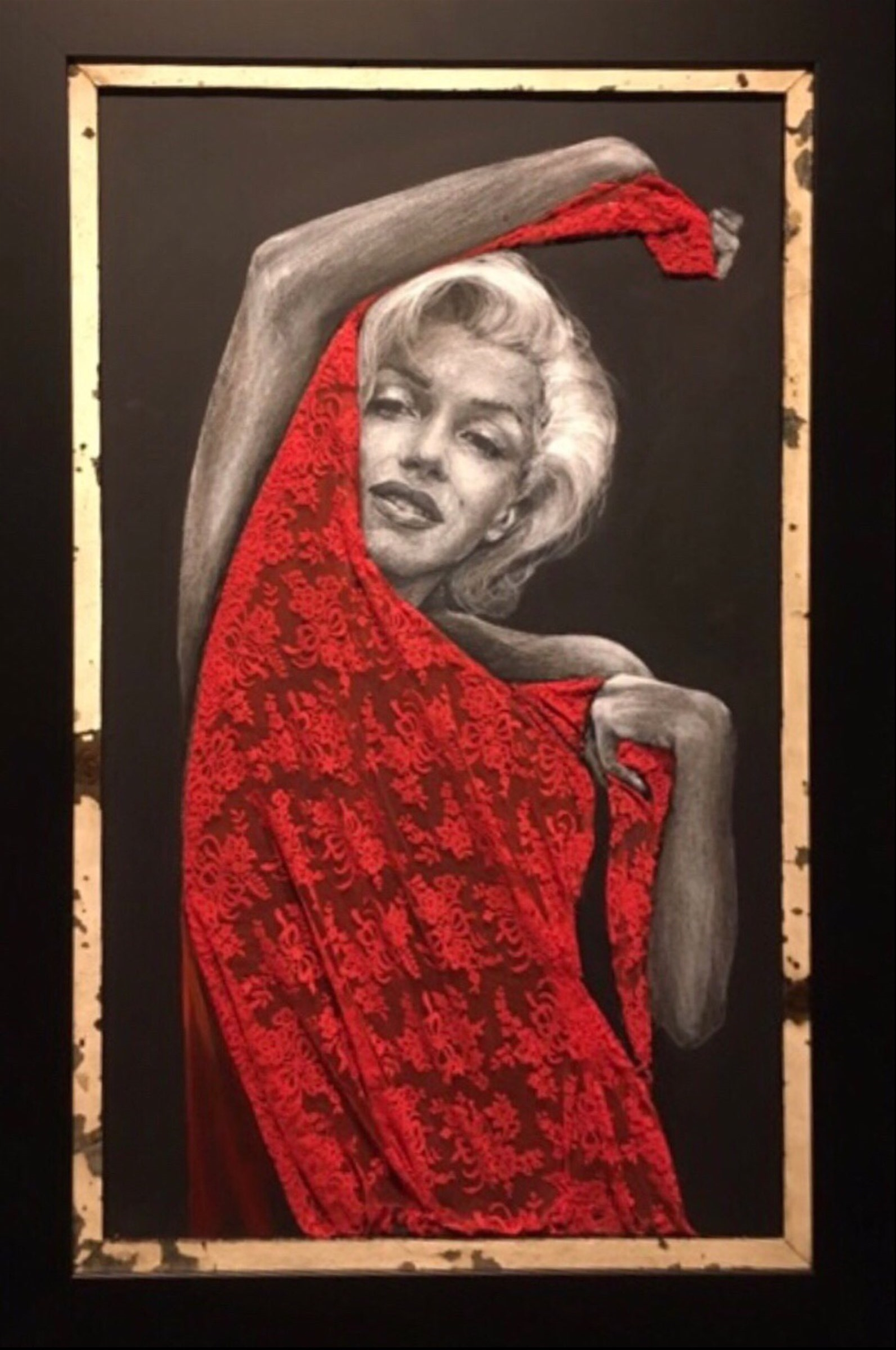 Marilyn by Bill Mack Hollywood Sign