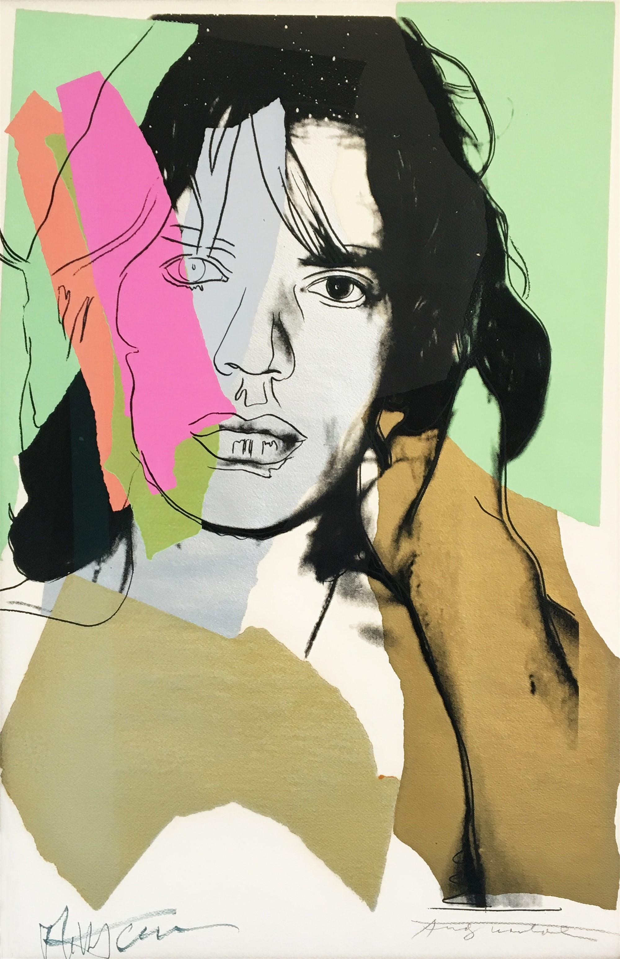 Mick Jagger (F&S II 140) by Andy Warhol