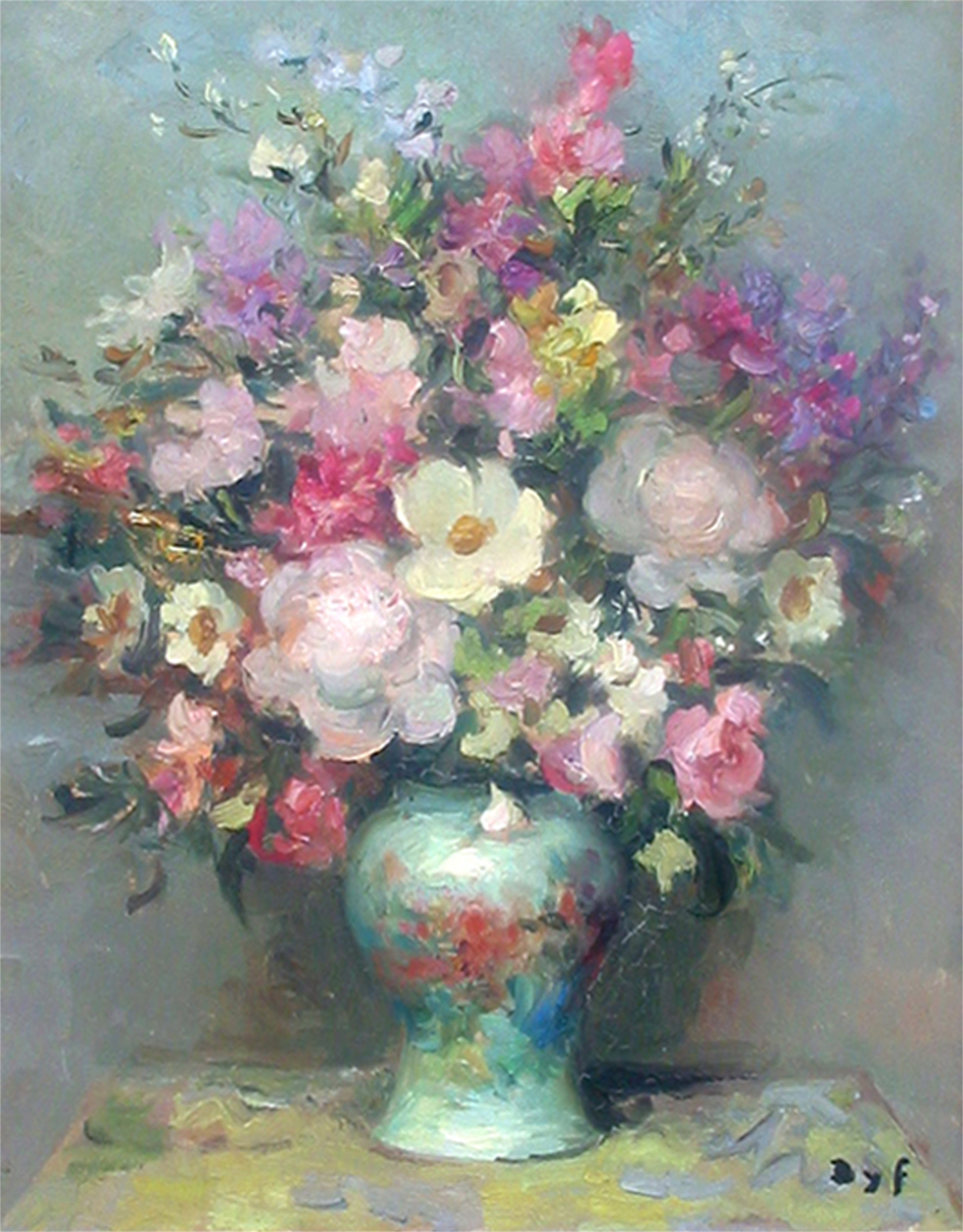 FLORAL IN PASTEL TONE by DYF