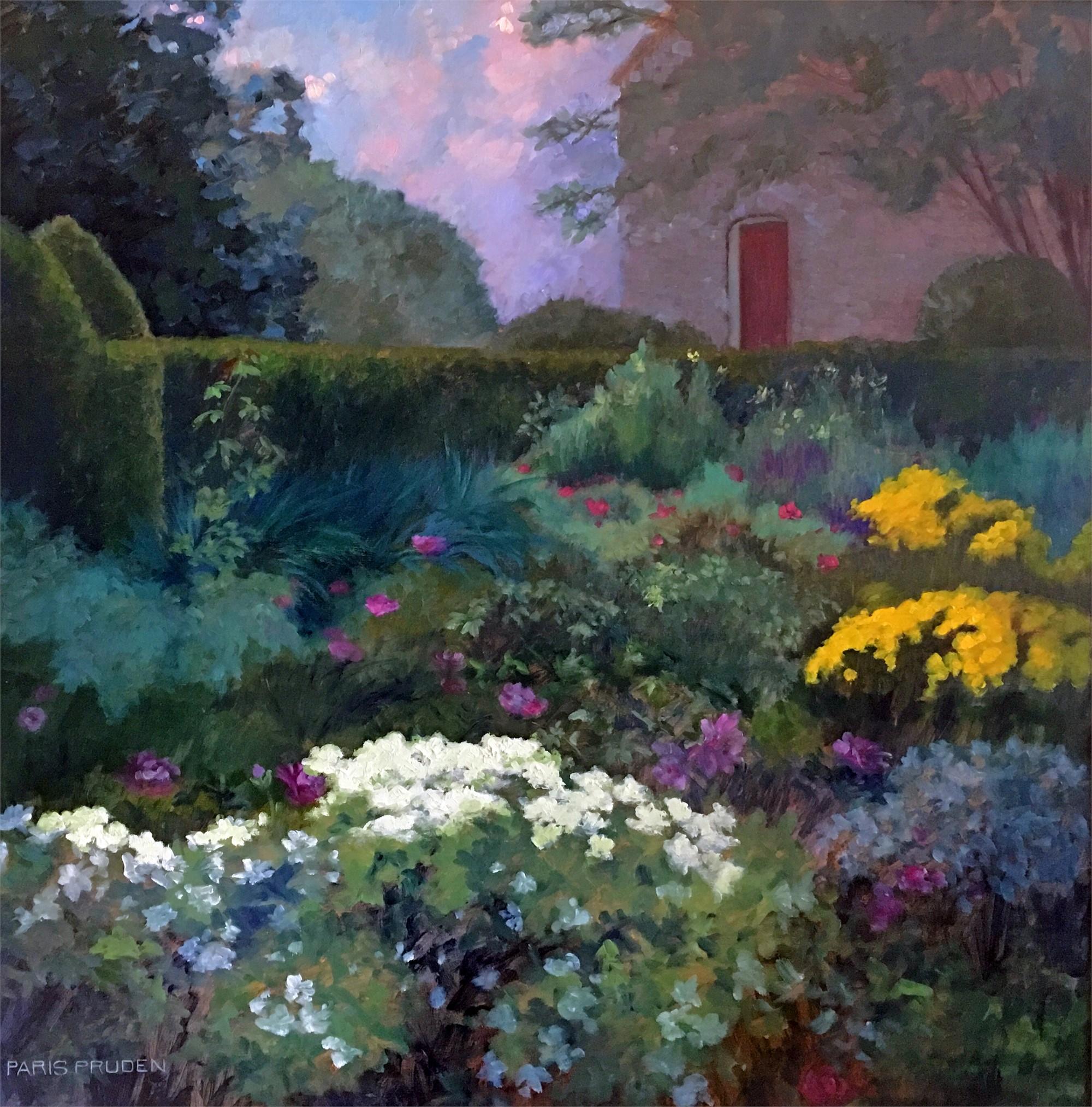 English Garden, 2017 by Nancy Paris Pruden