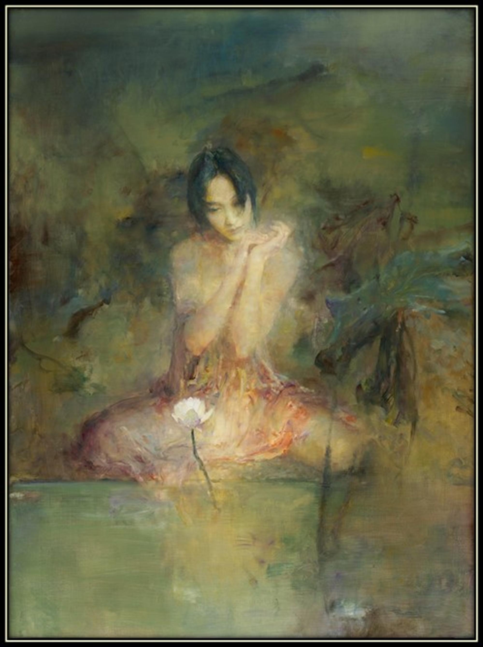 Day Dream by the Lotus by Hu Jun Di