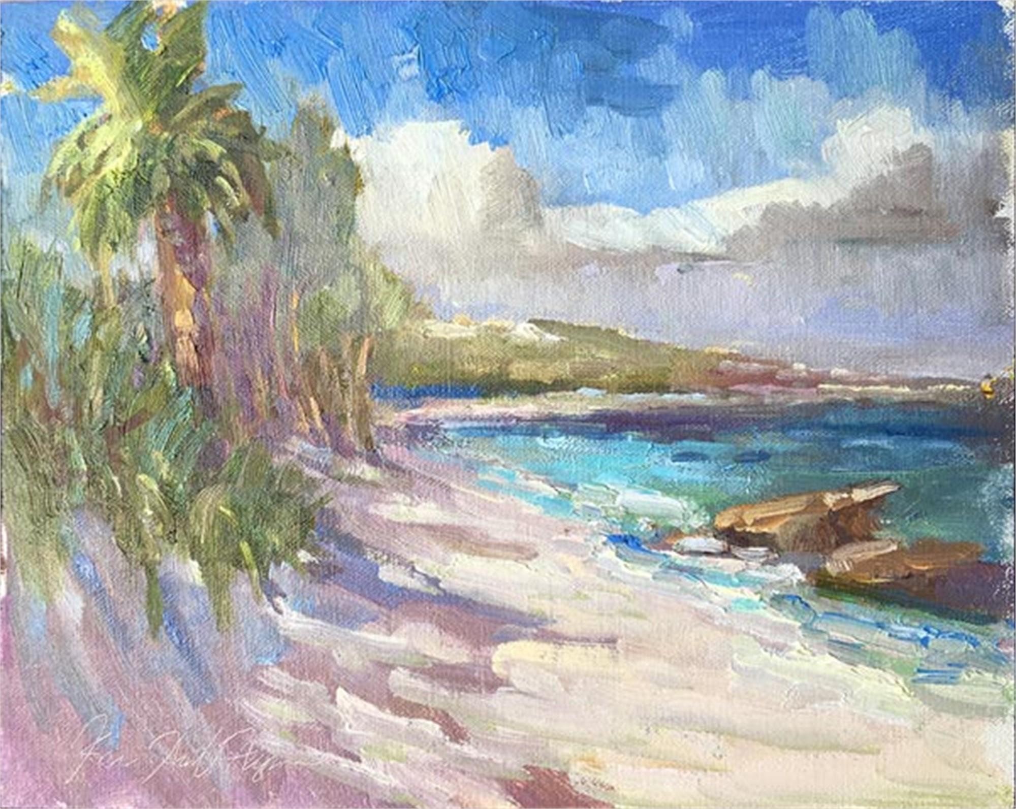 The Beach at Nippers by Karen Hewitt Hagan
