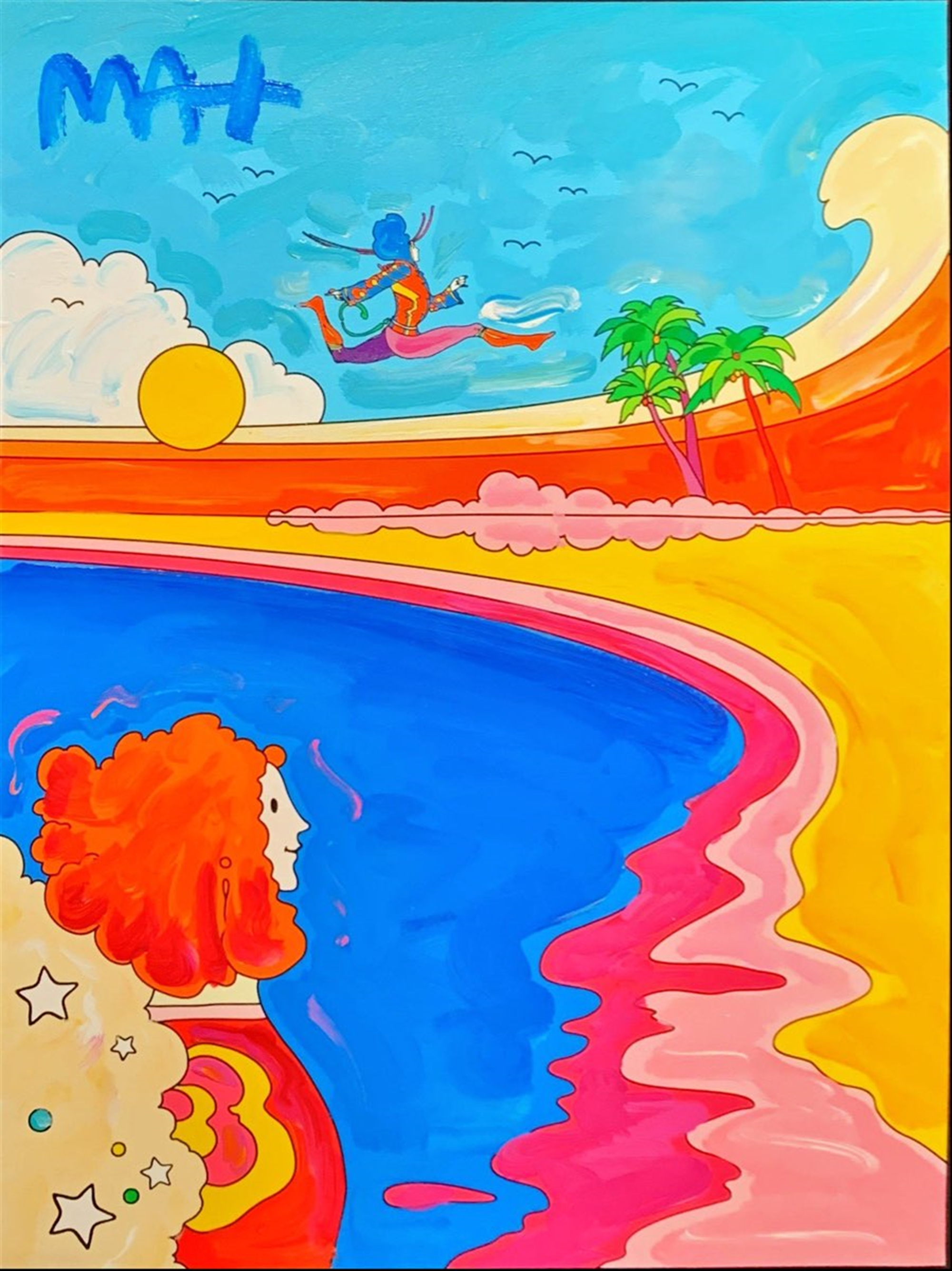 Cosmic Series by Peter Max