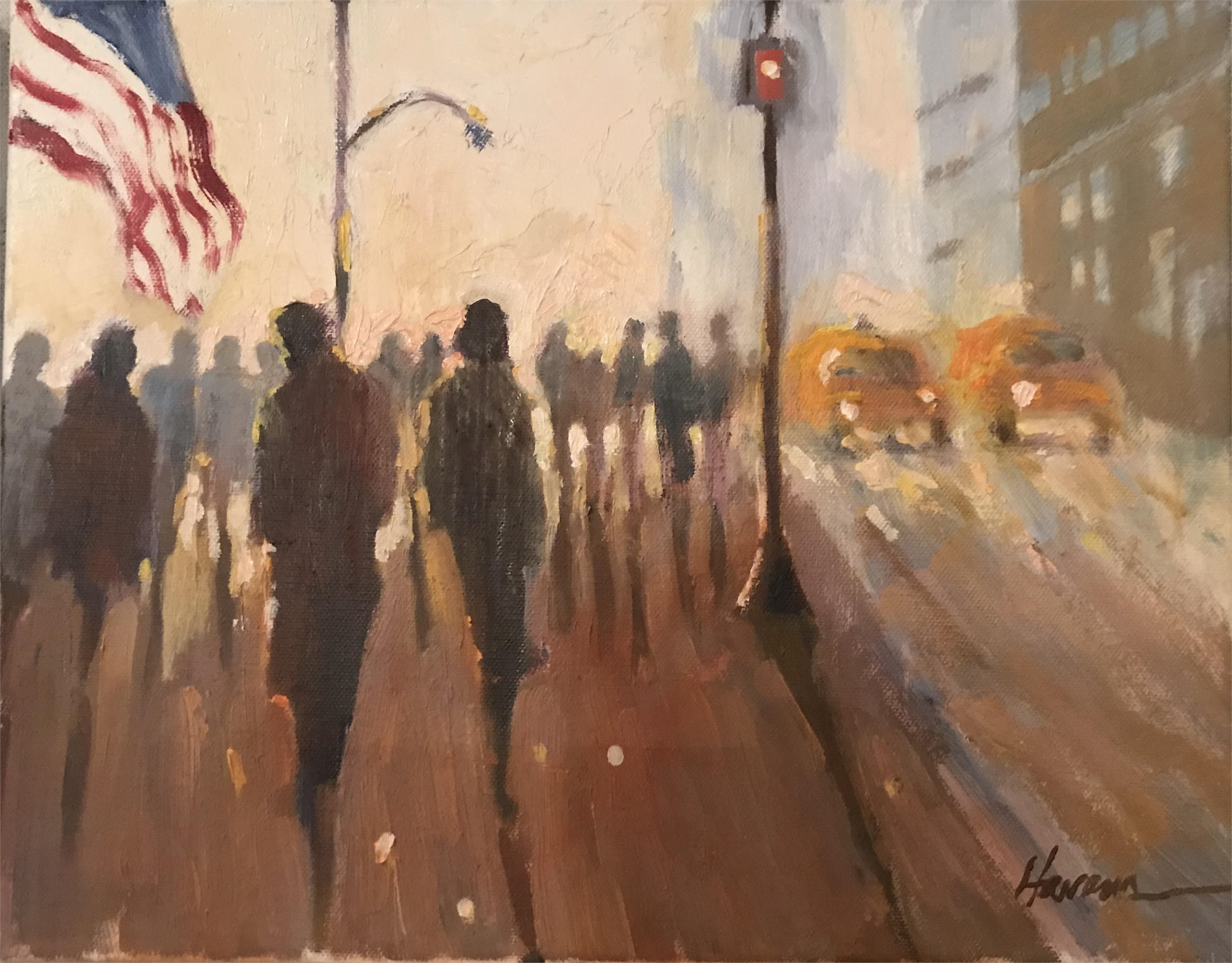 A New York Morning by Betsy Havens