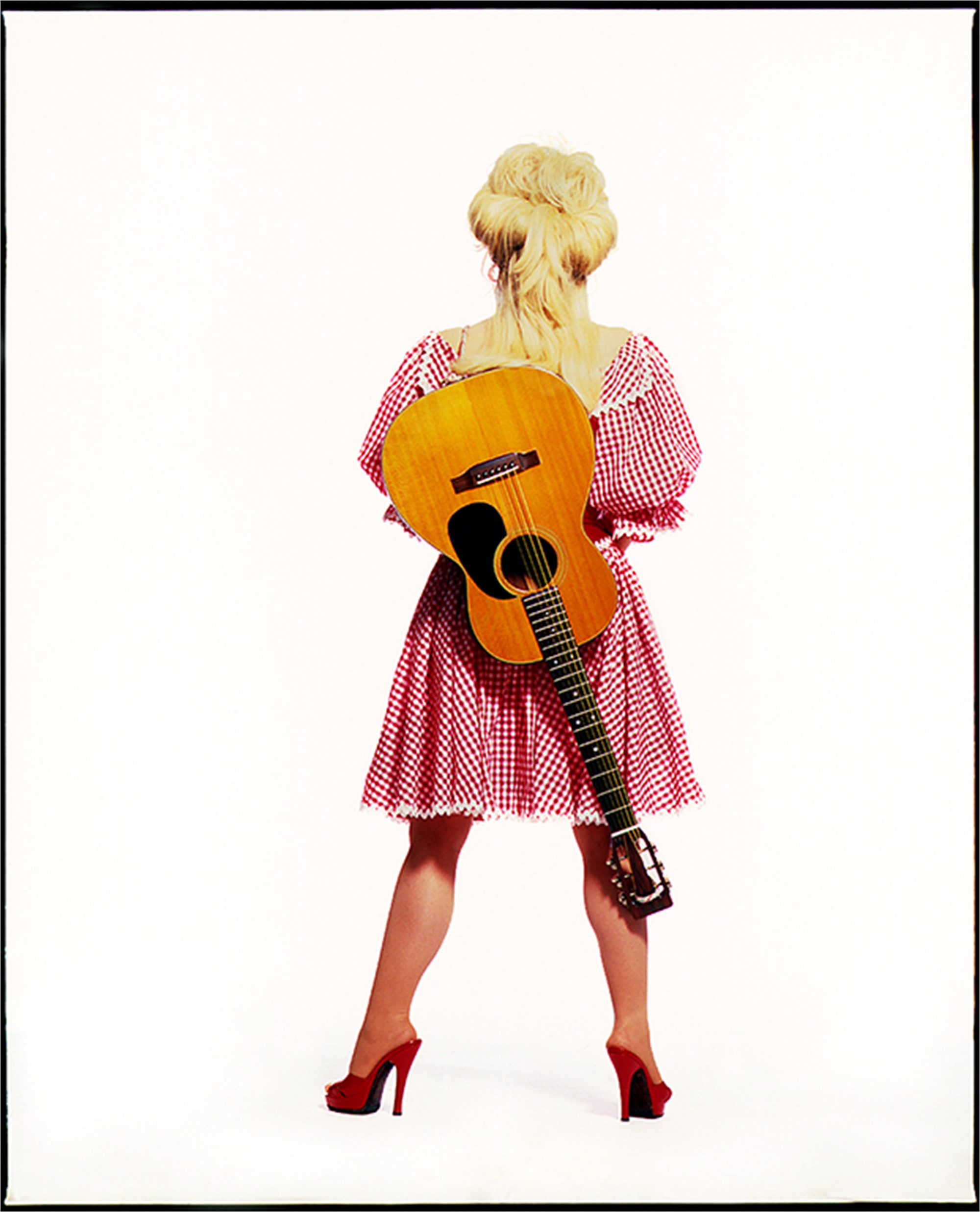 94052 Dolly Parton Backwards Color by Timothy White
