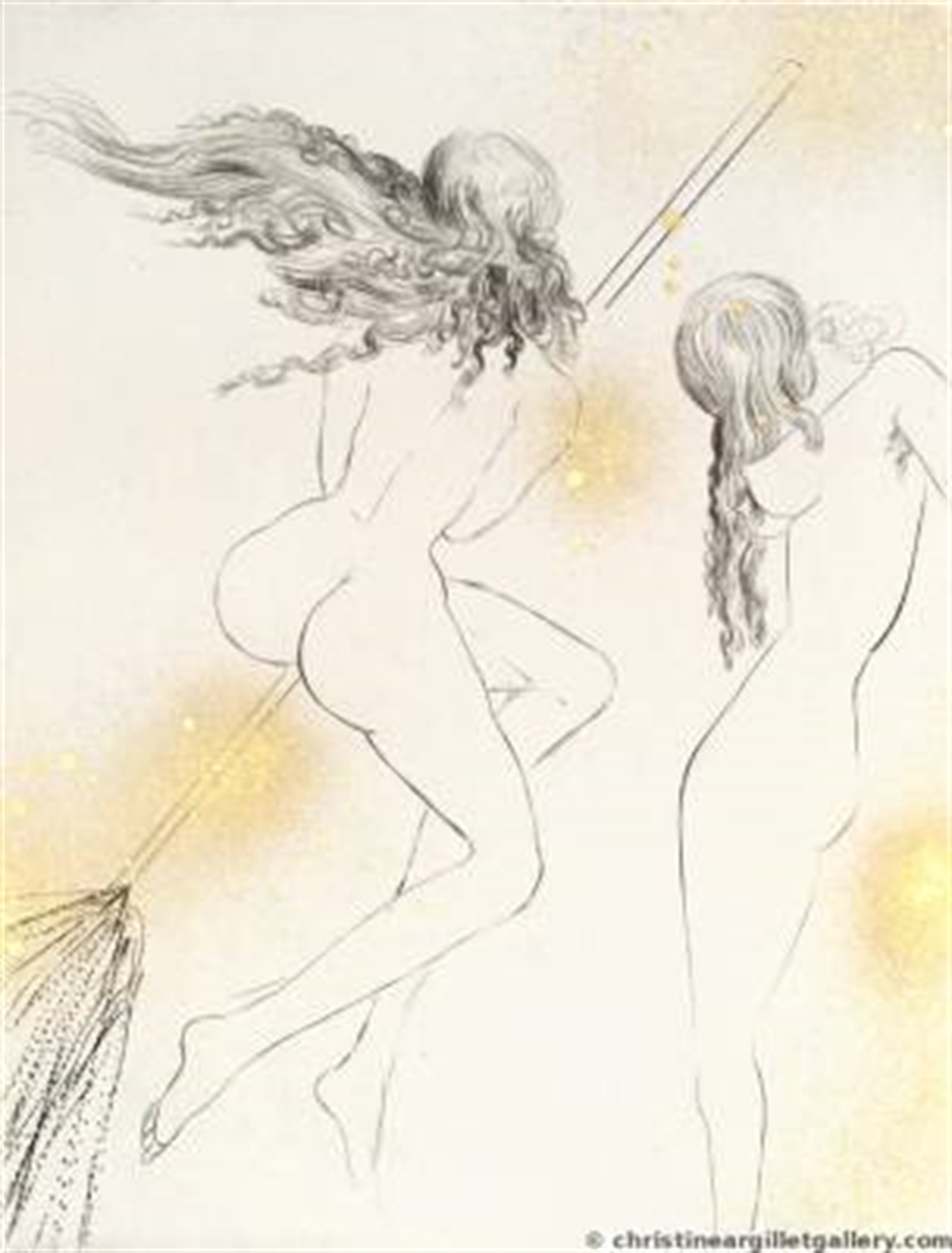 """Faust """"Witches with Broom"""" by Salvador Dali"""