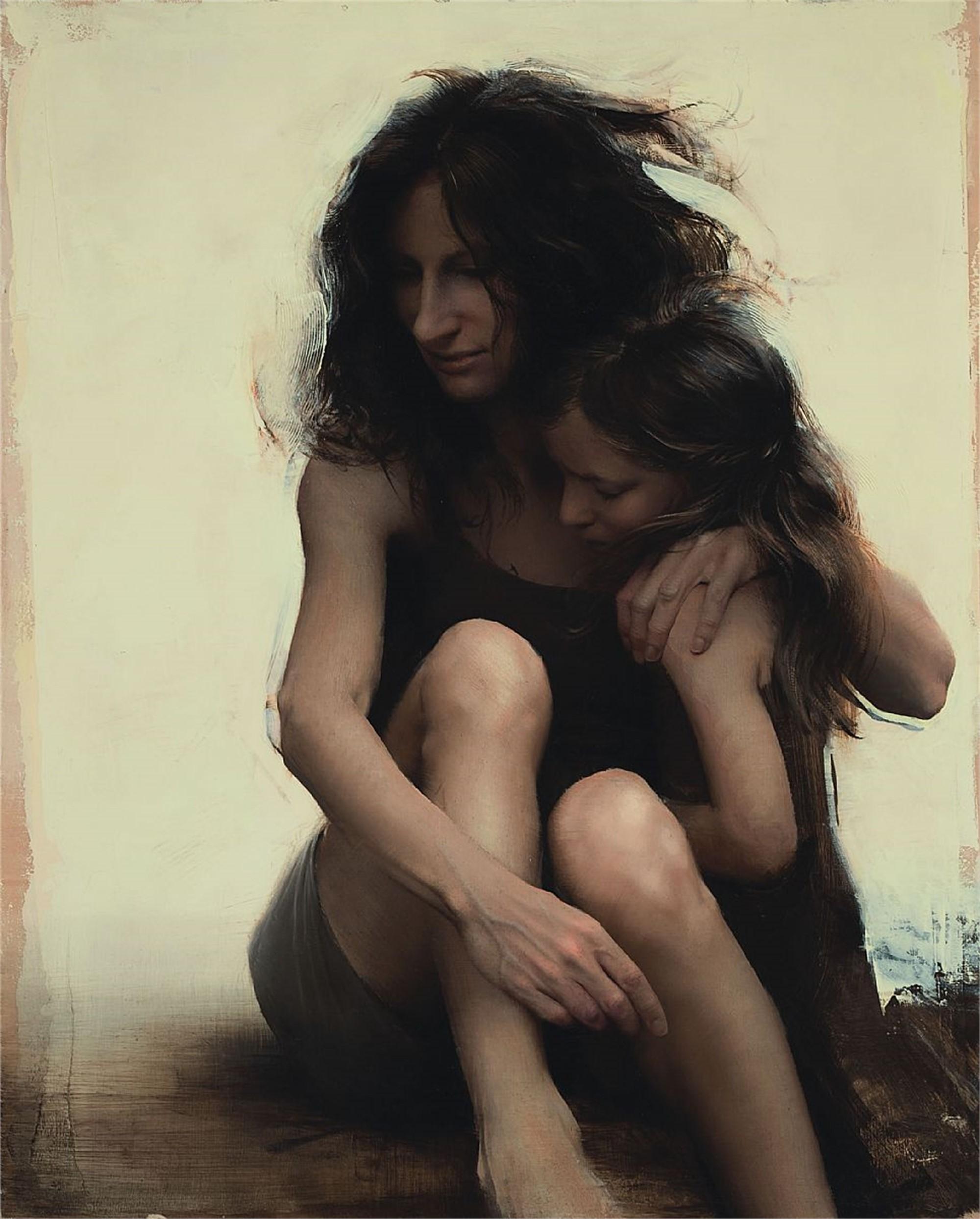 Katie with Lulu by Daniel Sprick