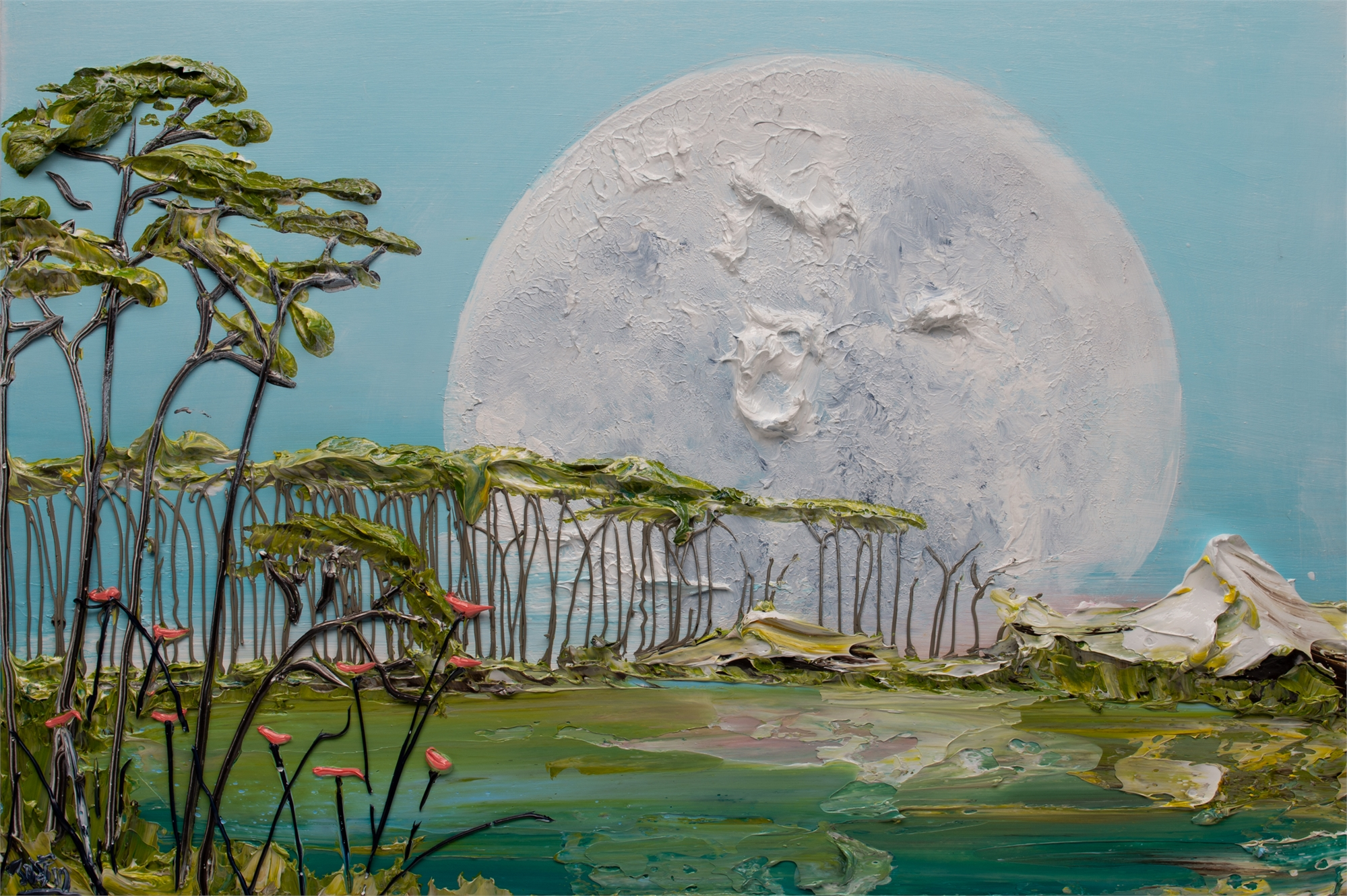 MOONSCAPE -MS-36X24-2019-237 by JUSTIN GAFFREY
