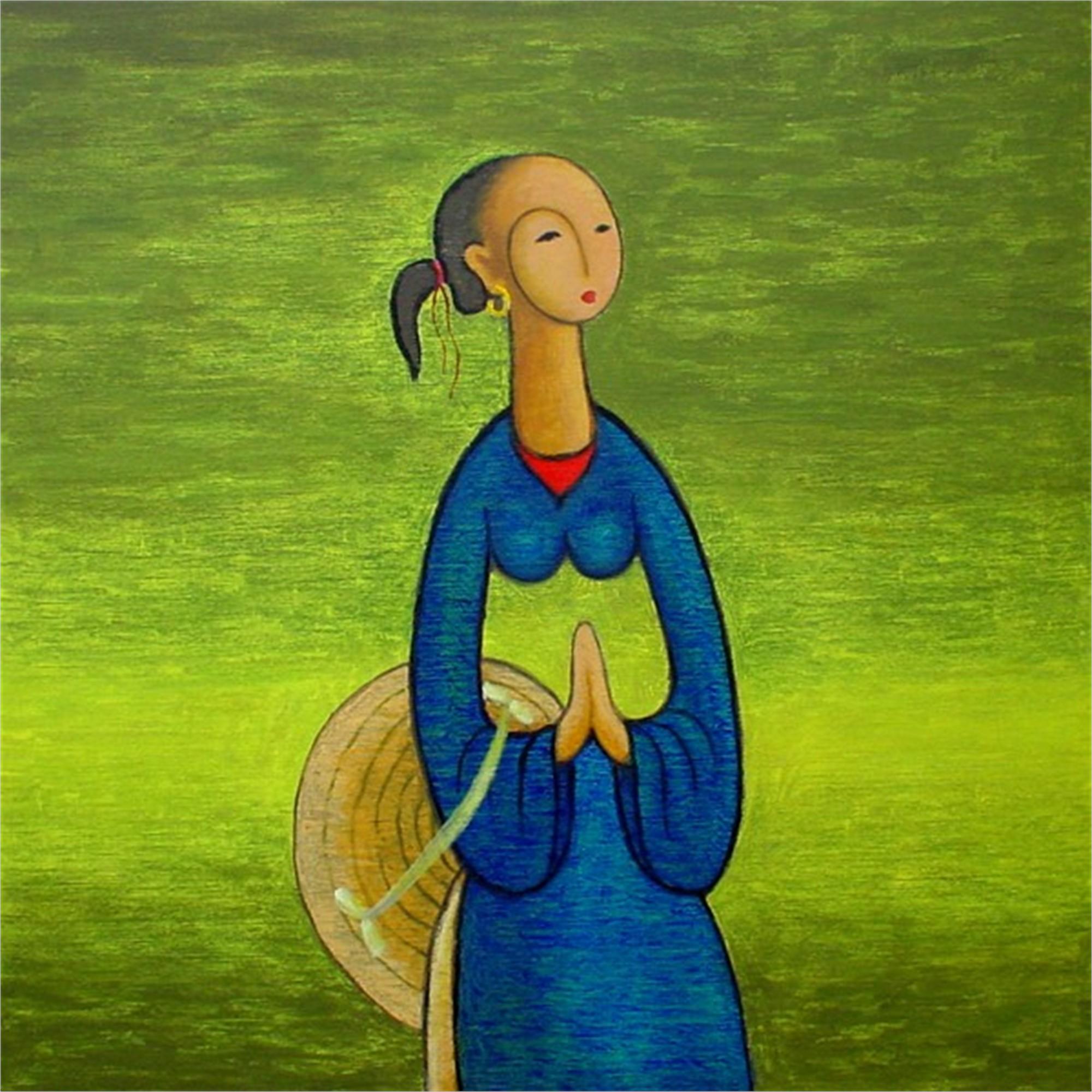 Vietnamese Girl by Tu Duy
