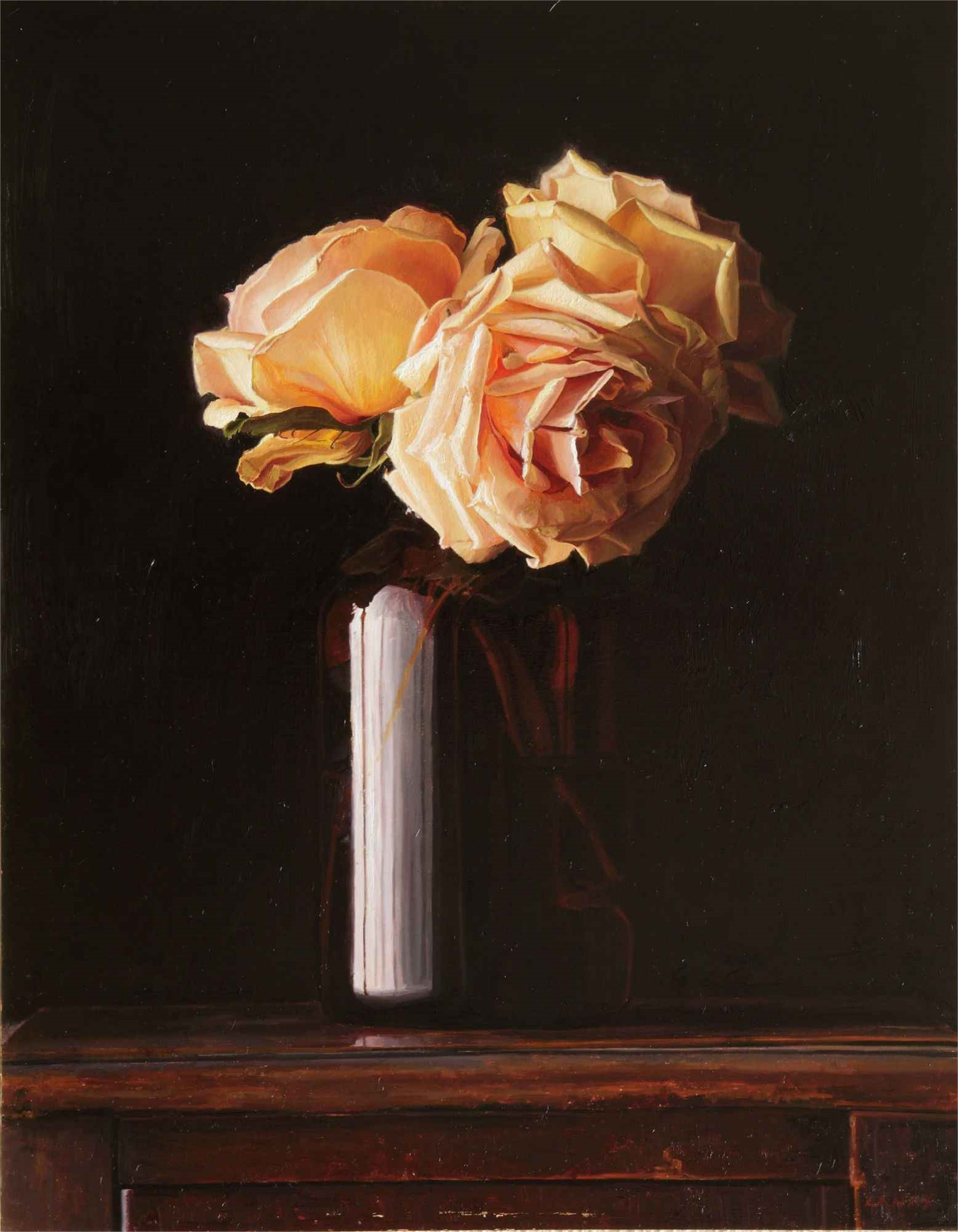 """Rental Extension - """"Pink Roses"""" by Greg Gandy"""