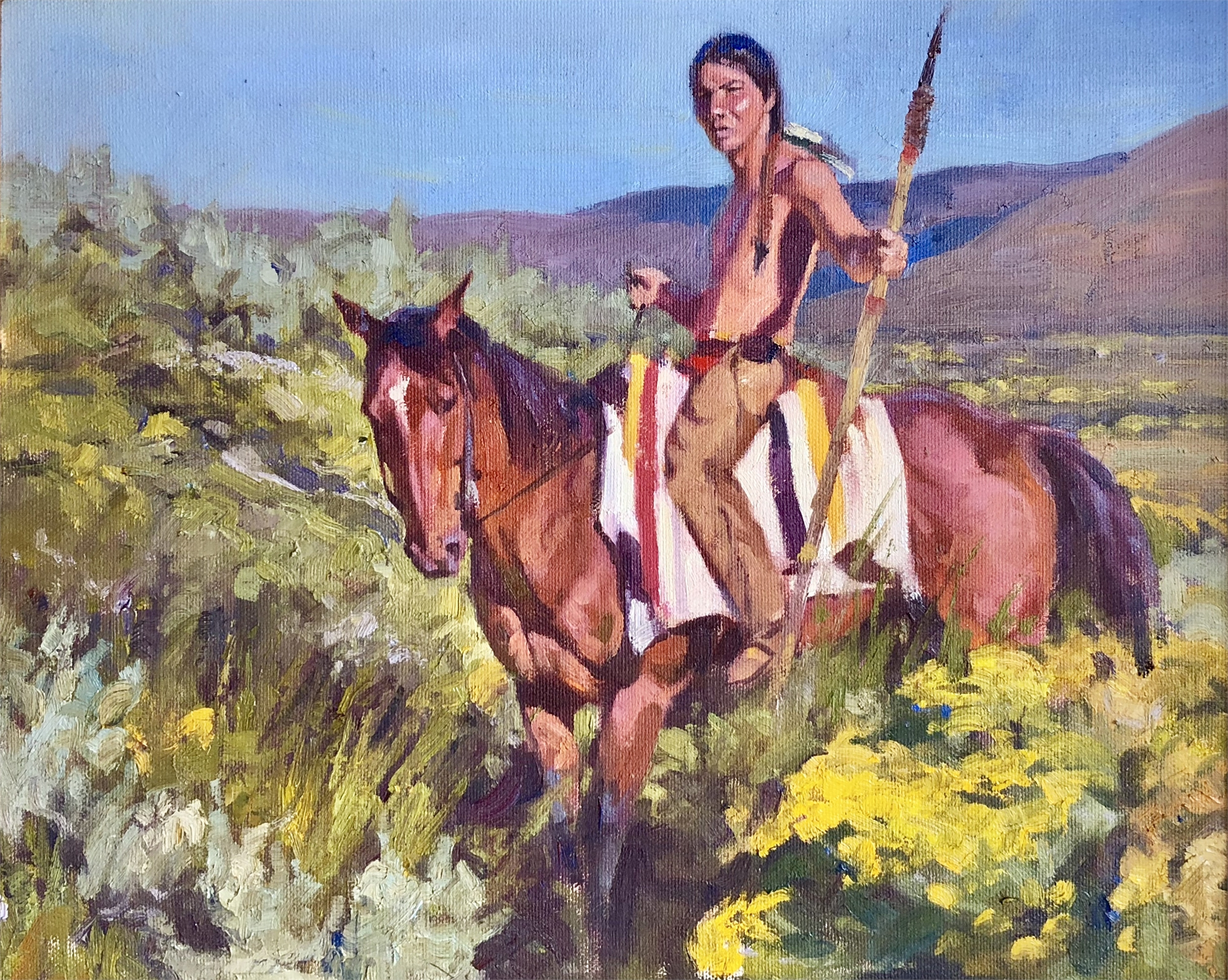 Arapaho Soldier by Charles Dayton
