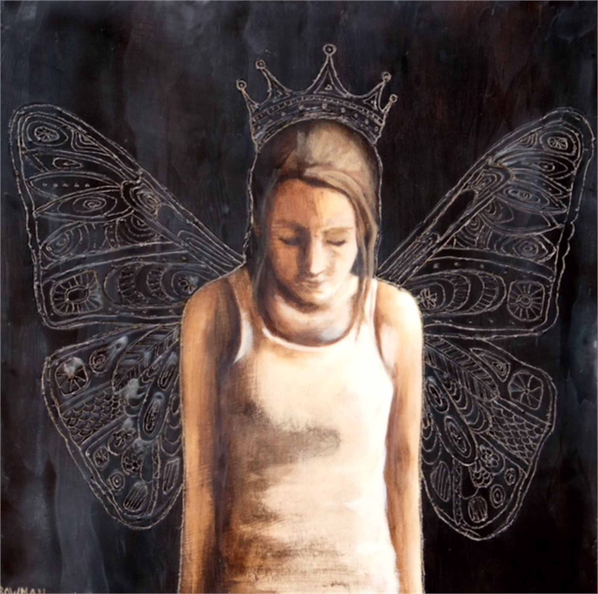In My Dreams I am Queen of the Butterflies, 2018 by Laura Bowman