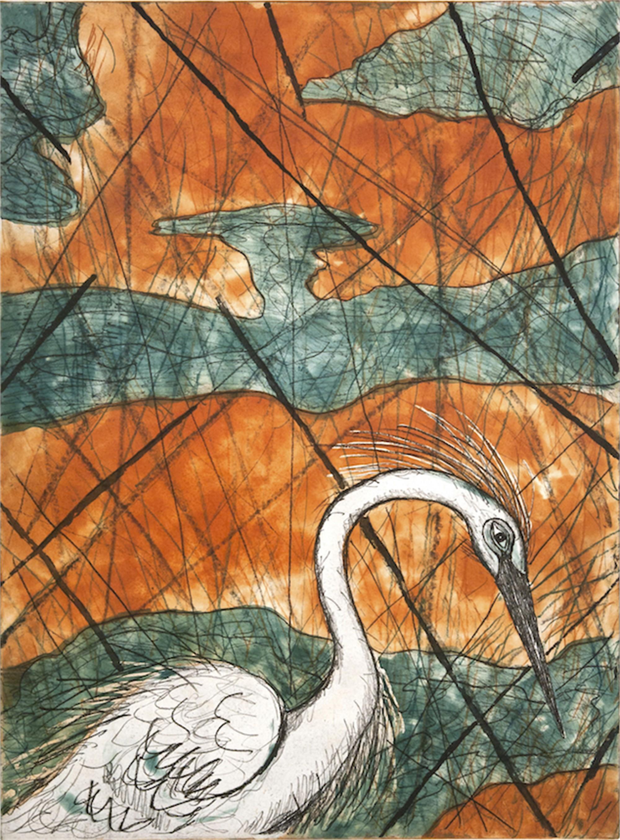 Snowy Egret by Frank X. Tolbert 2