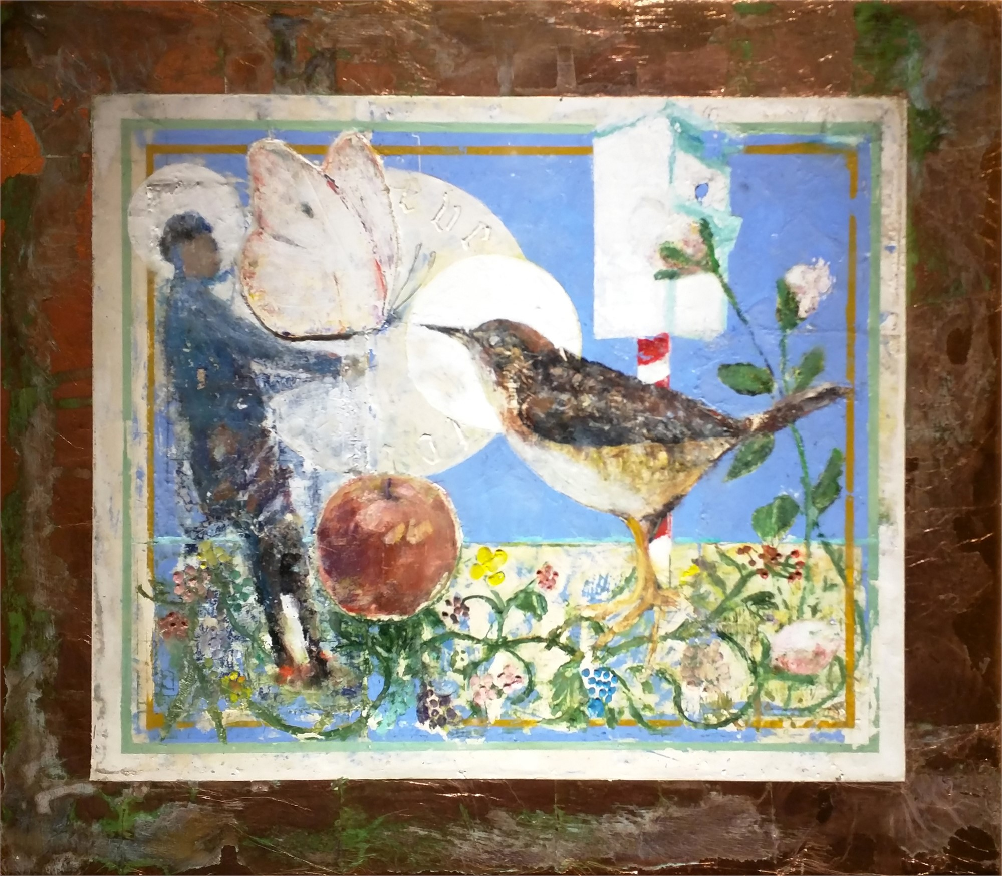 Still Life for Bird Temple #1 by Mark Gaskin
