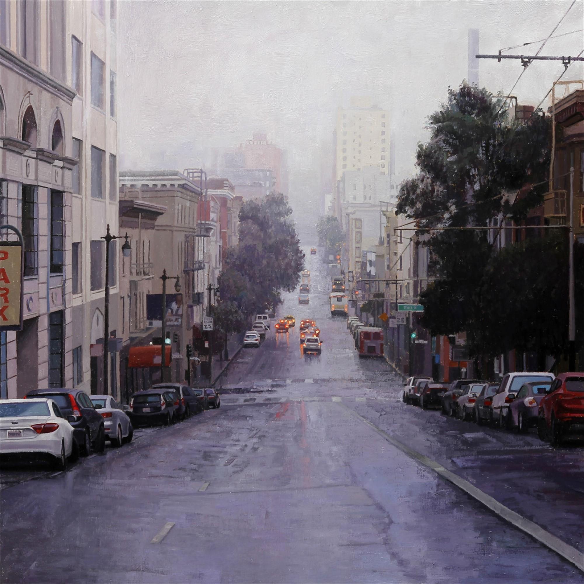 Looking Down Post Street by Greg Gandy
