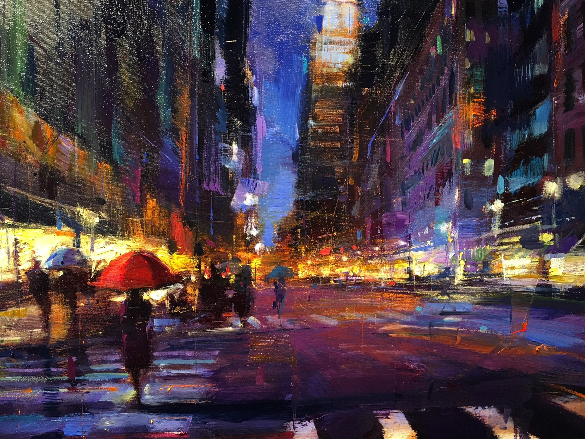 New York City Rain by Michael Flohr