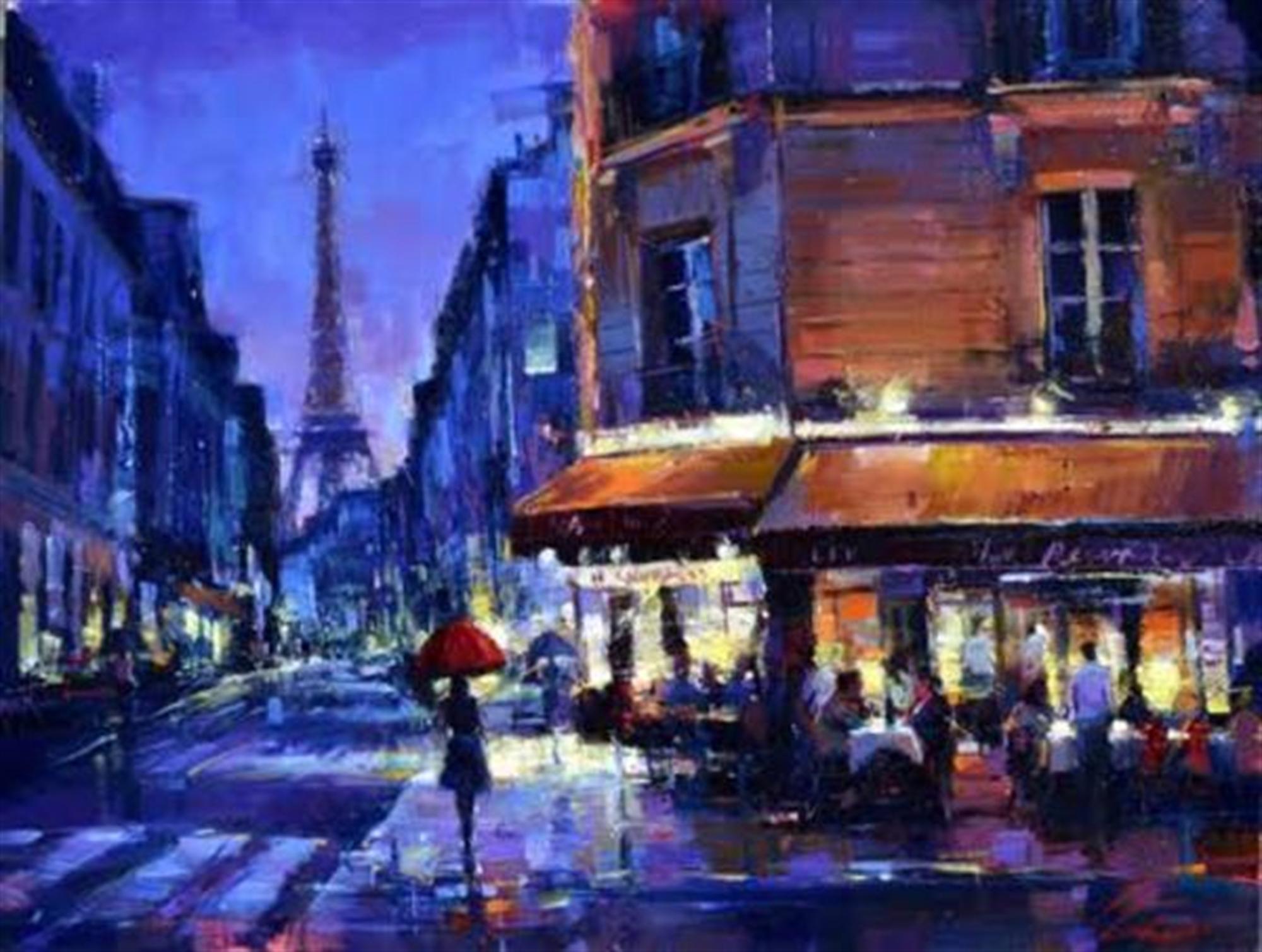 Parisian Rain by Michael Flohr