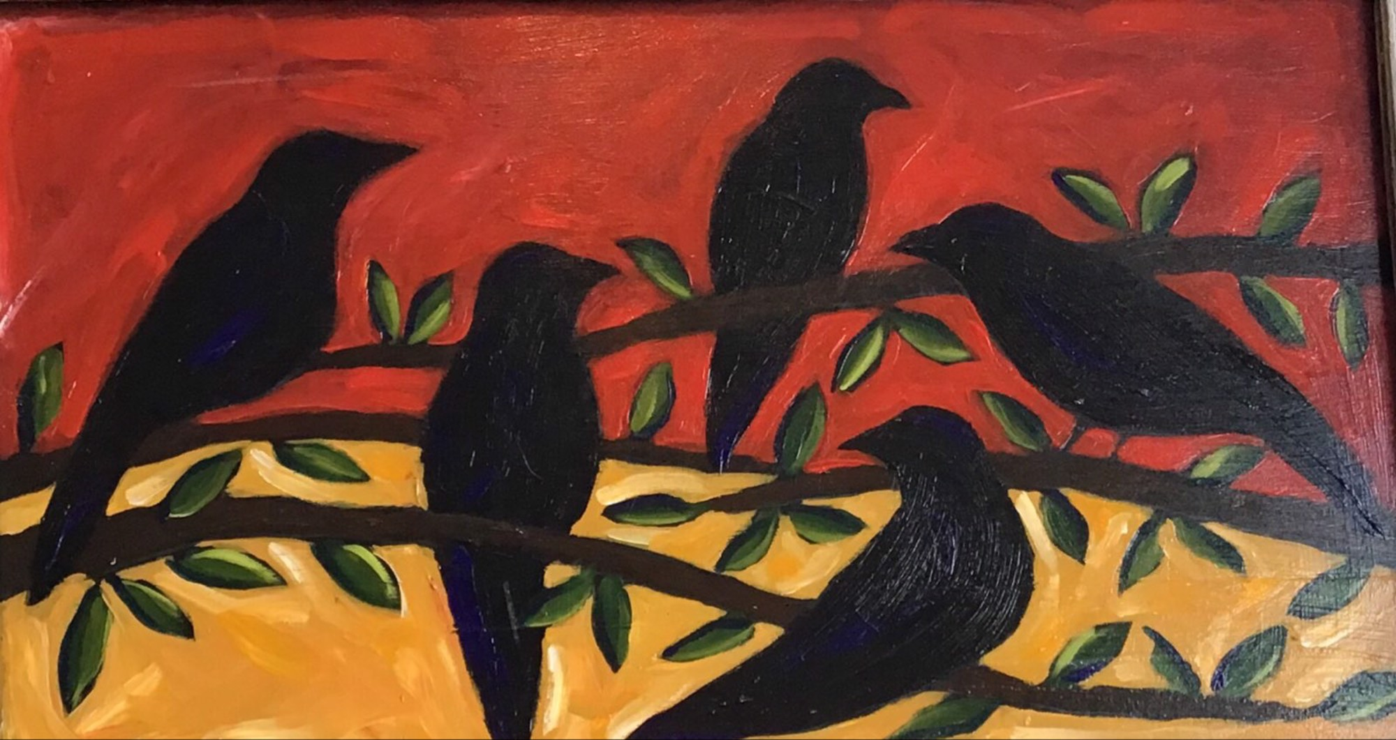 5 Blackbirds by Sherry Cook