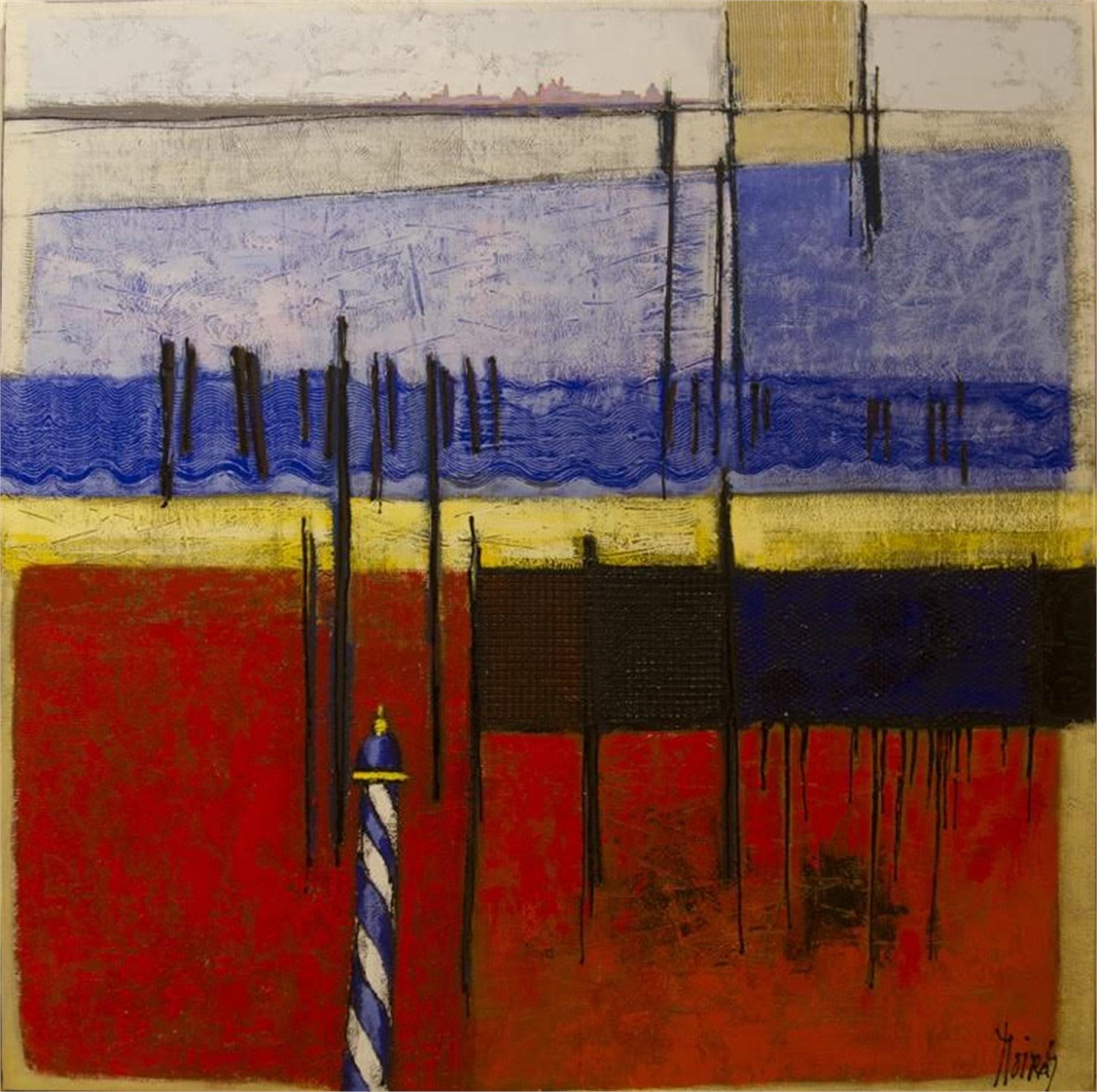 Sur la Lagune by Jean Moiras