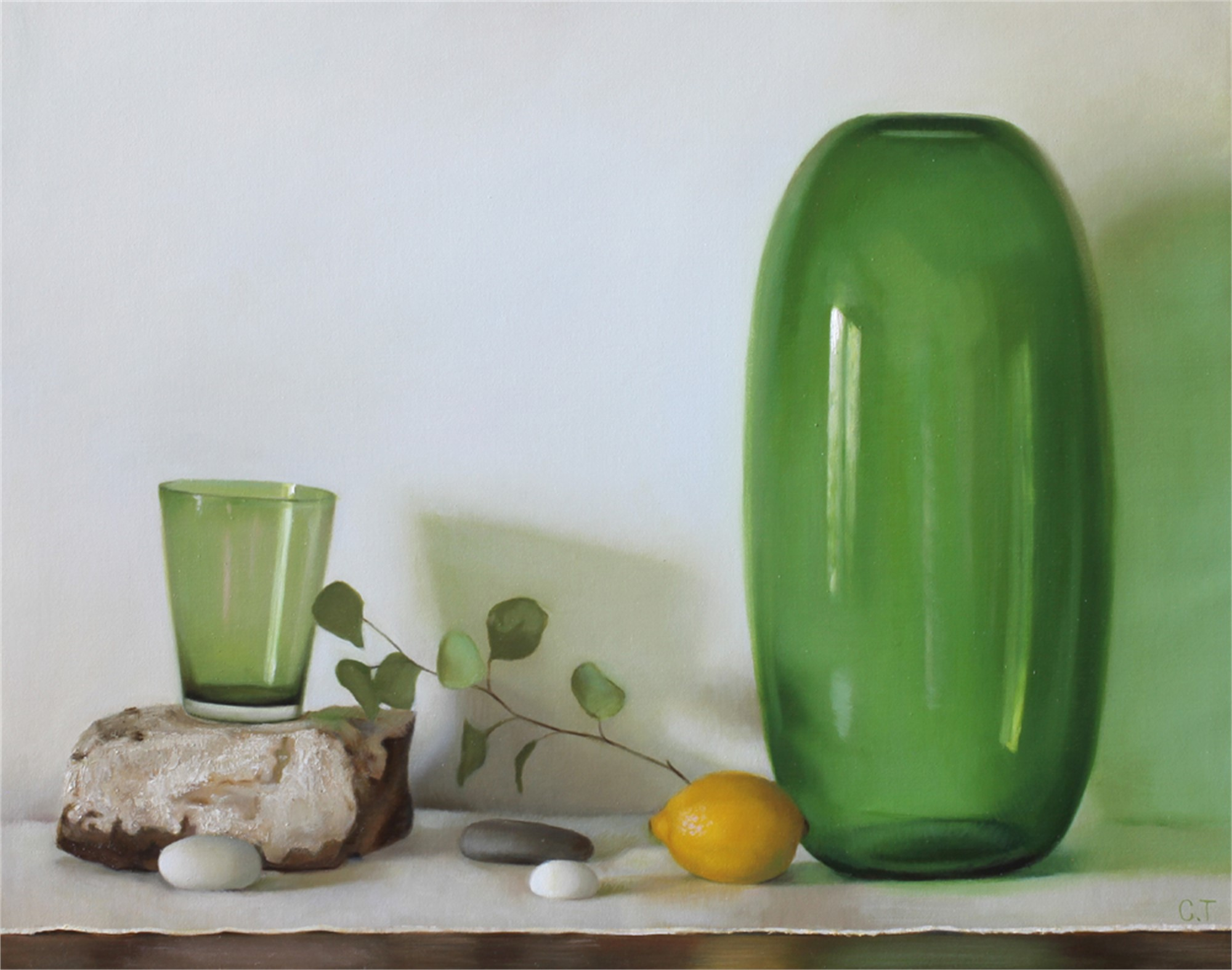 Green Glass by Cecilia Thorell
