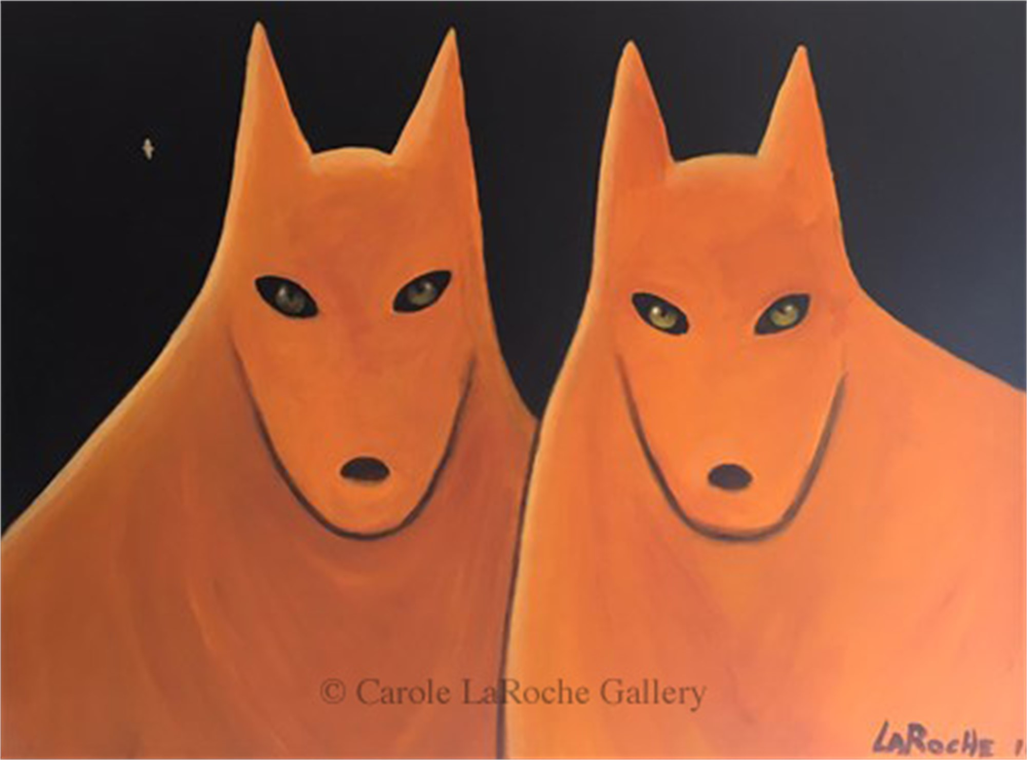 STAR-CROSSED SOULMATES -  From Carole's Private Collection by Carole LaRoche
