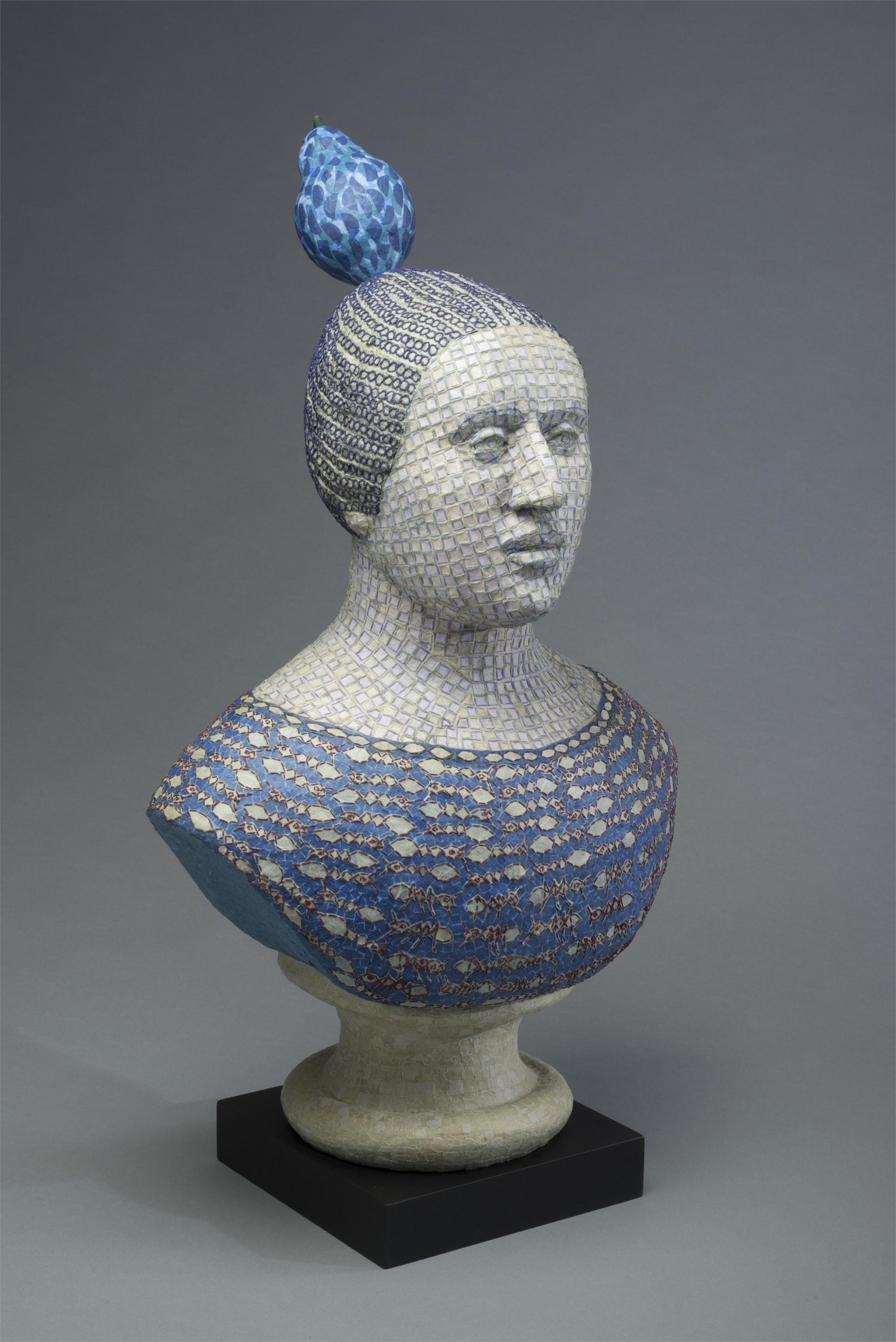 Blue Pear by Martha Shade