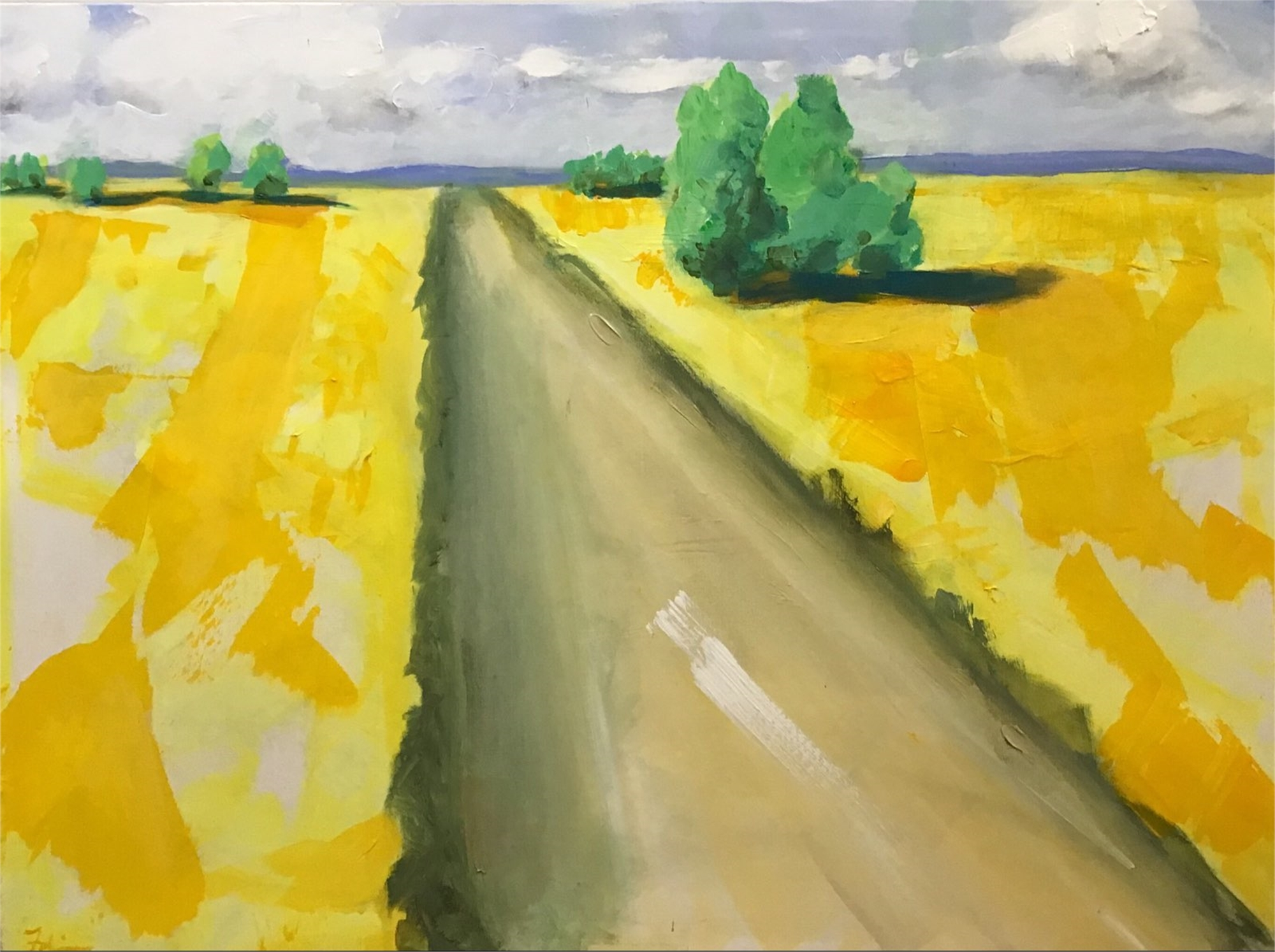 Bathed In Yellow by Patricia Fabian