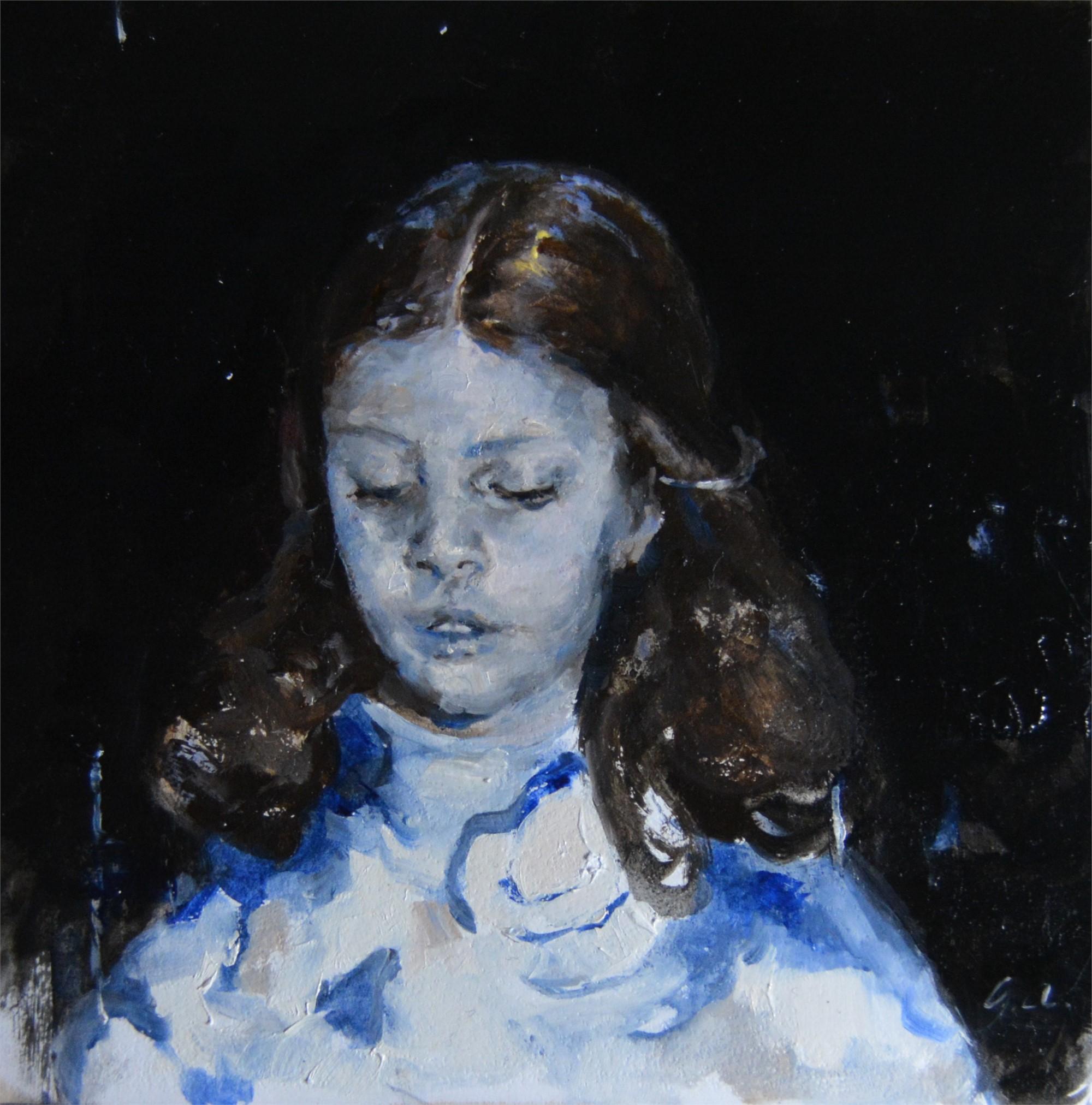 Girl in Blue by Jaclyn Alderete