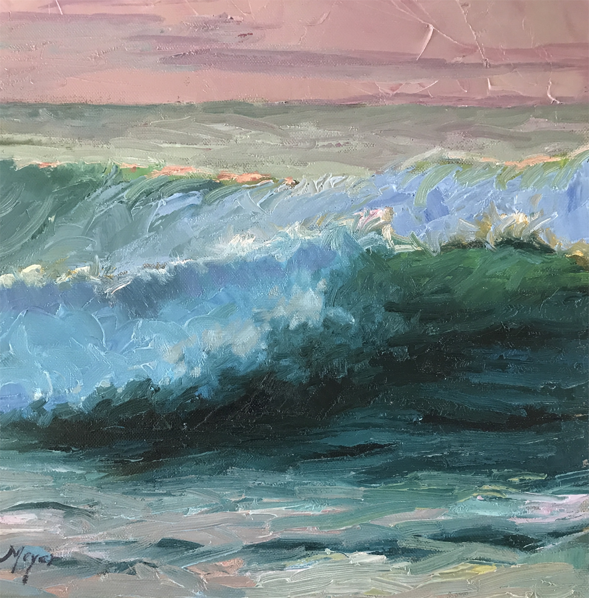 Making Waves, I by Laurie Meyer