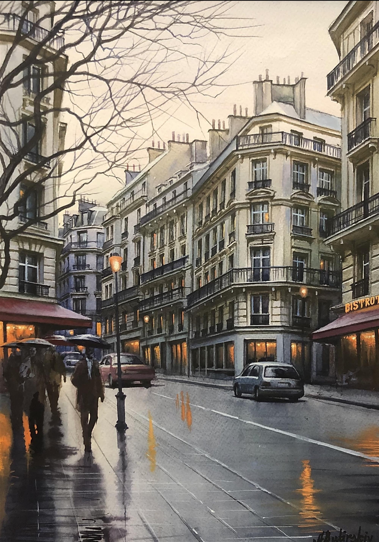 Stroll in Paris by Alexei Butirskiy