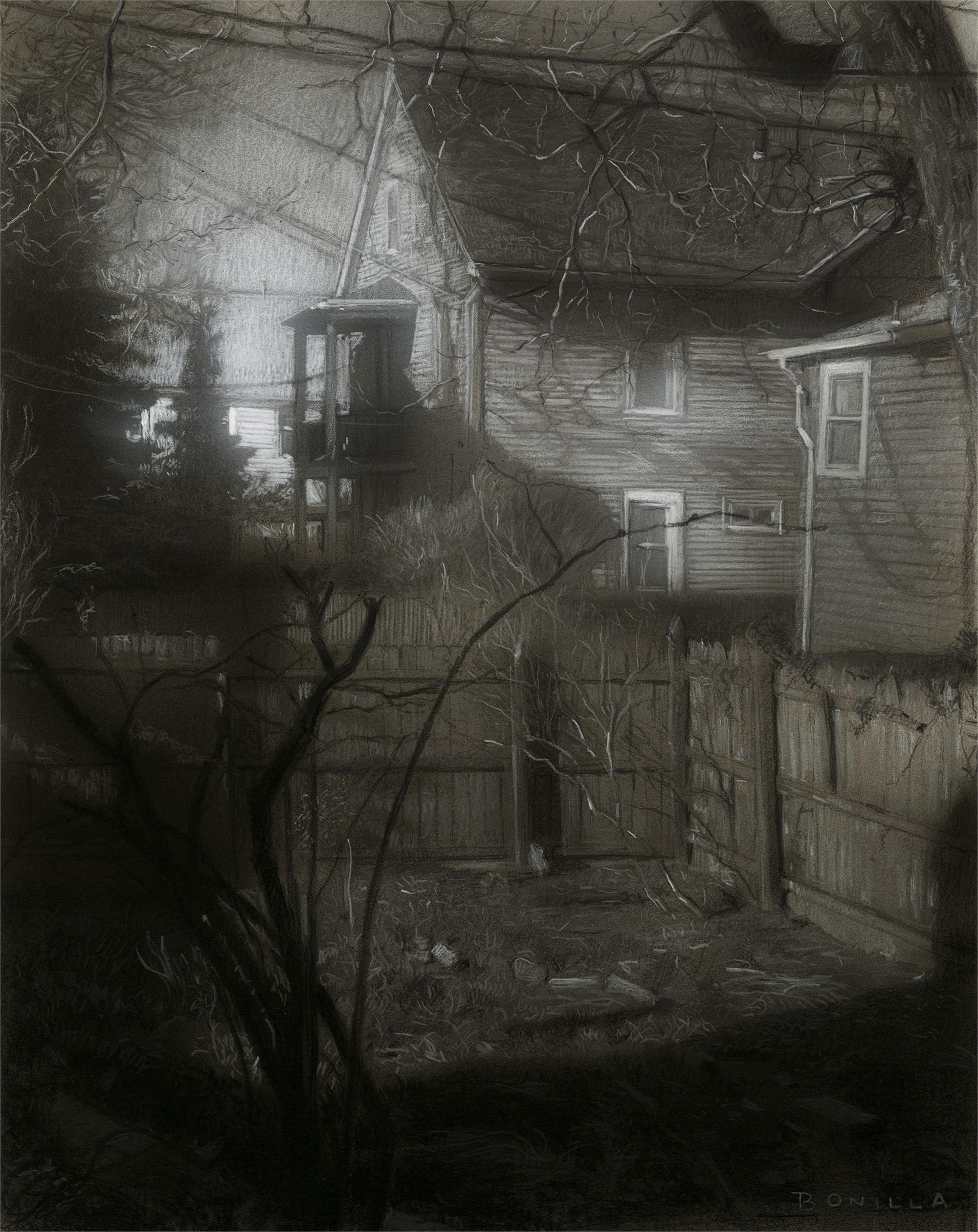 Study for Jamie's Garden by Raymond Bonilla