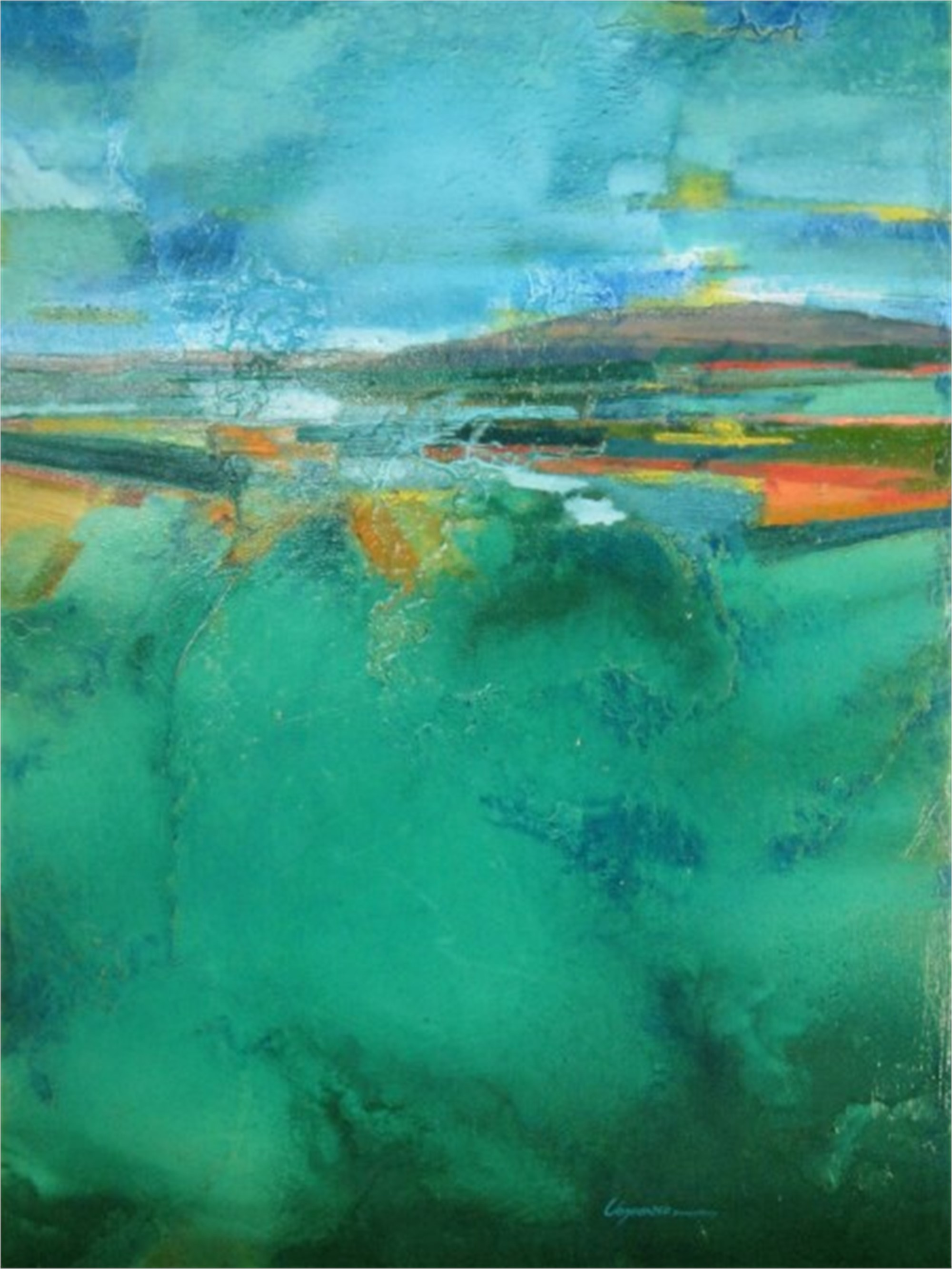 Emerald Valley by Bob Chrzanowski