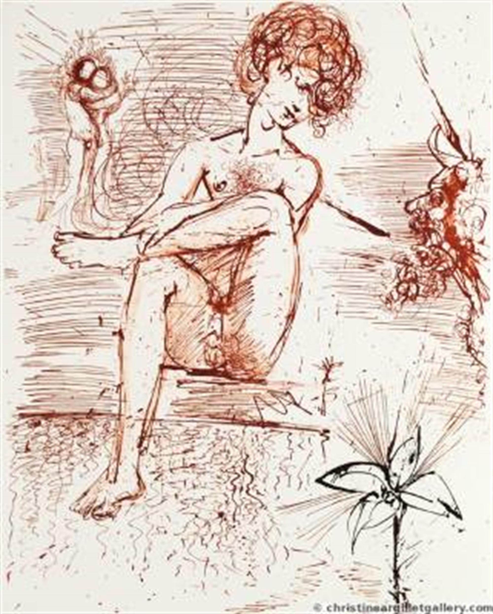 "Mythology ""Narcissus"" by Salvador Dali"