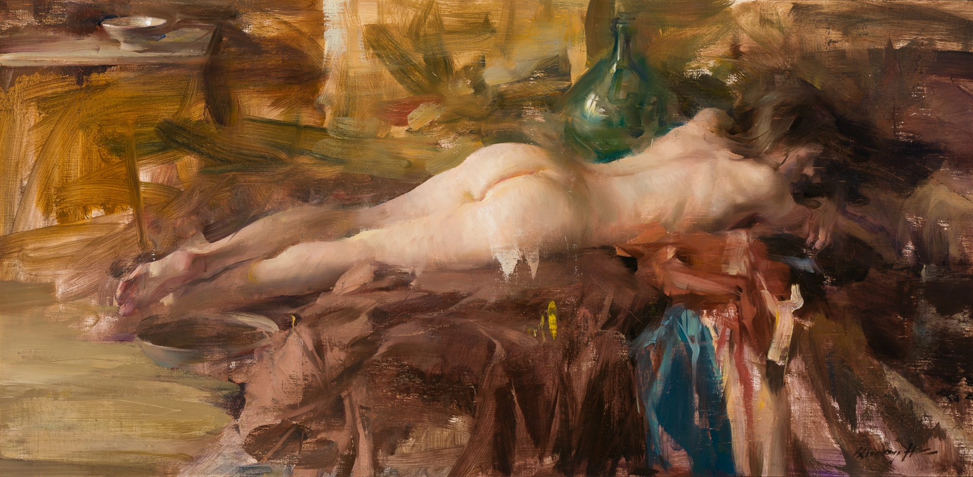 Reclining Figure by Quang Ho